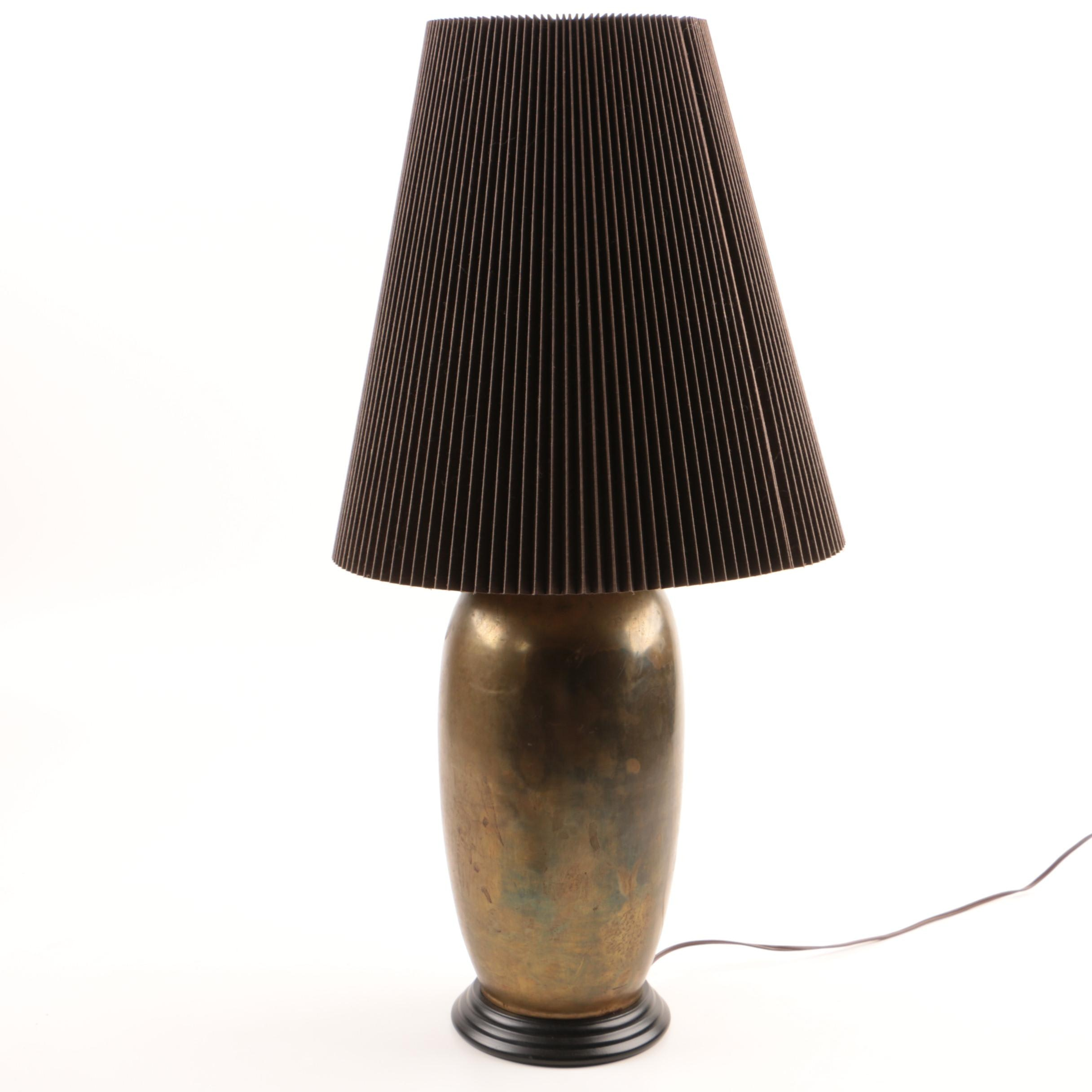 Brass Ginger Jar Table Lamp
