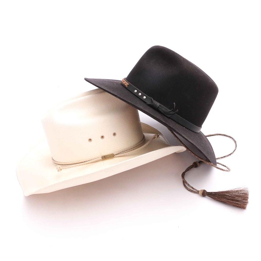 Stetson and Beaver Brand Hats   EBTH 3e31a3c97fb