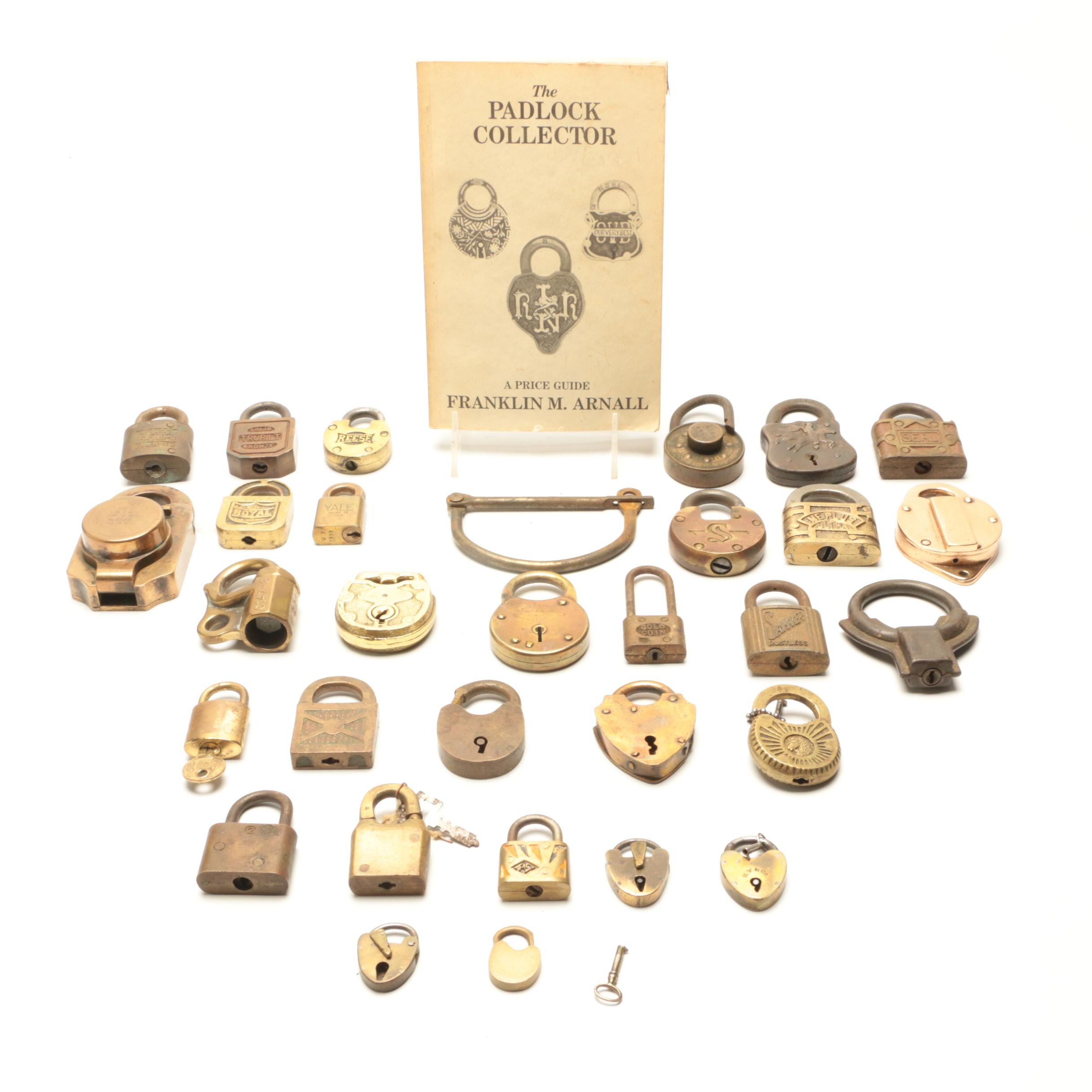 Collection of Vintage Padlocks