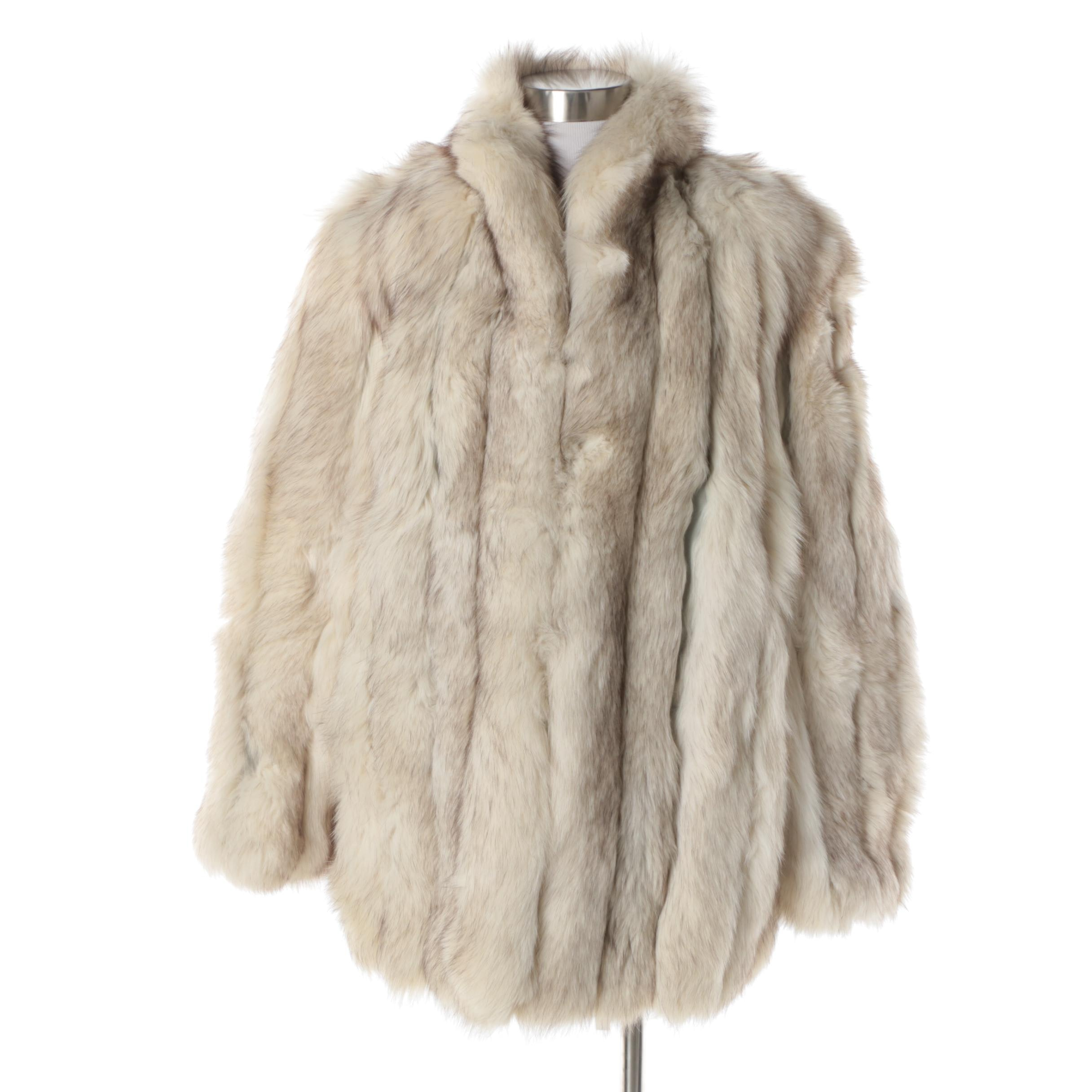 Jack Slade Furs Fox Fur Coat