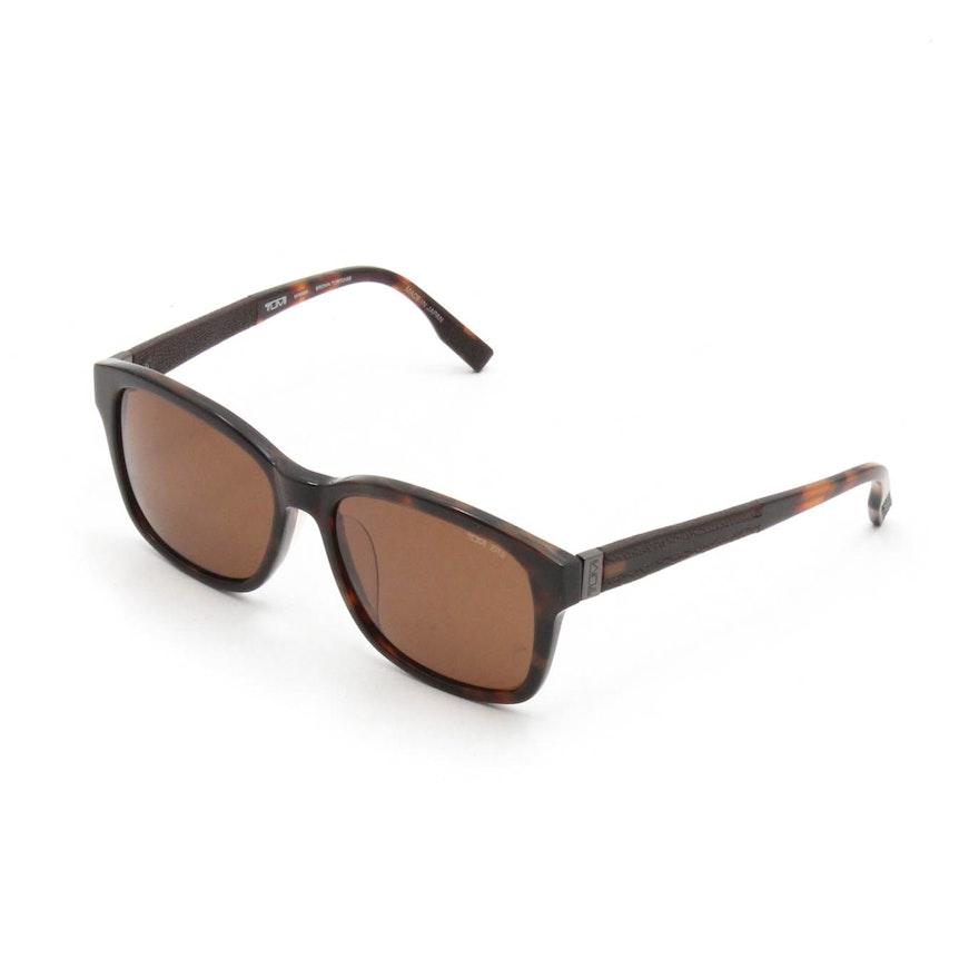 173b7461df Tumi Minami Brown Tortoise Polarized Sunglasses   EBTH