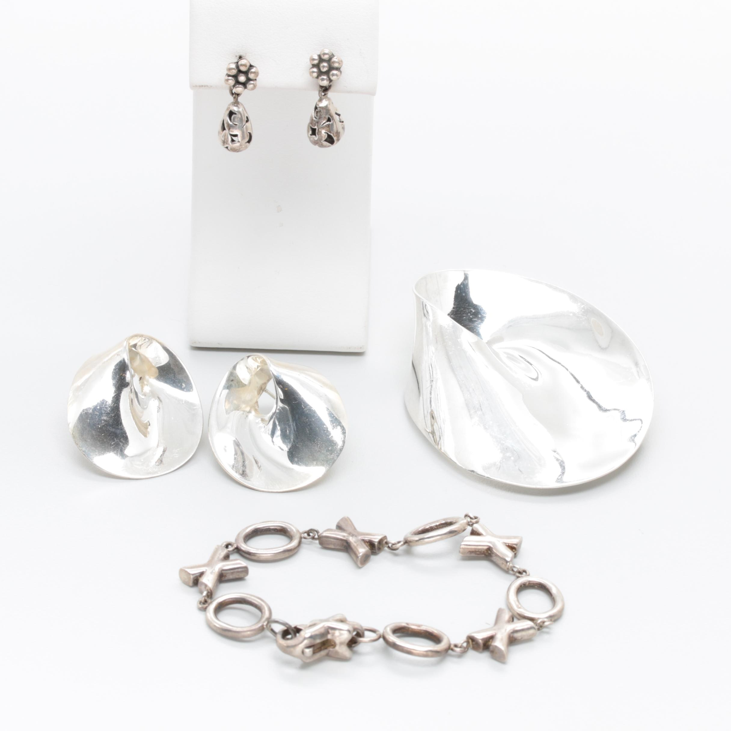 Sterling Silver Jewelry Assortment Including Zina