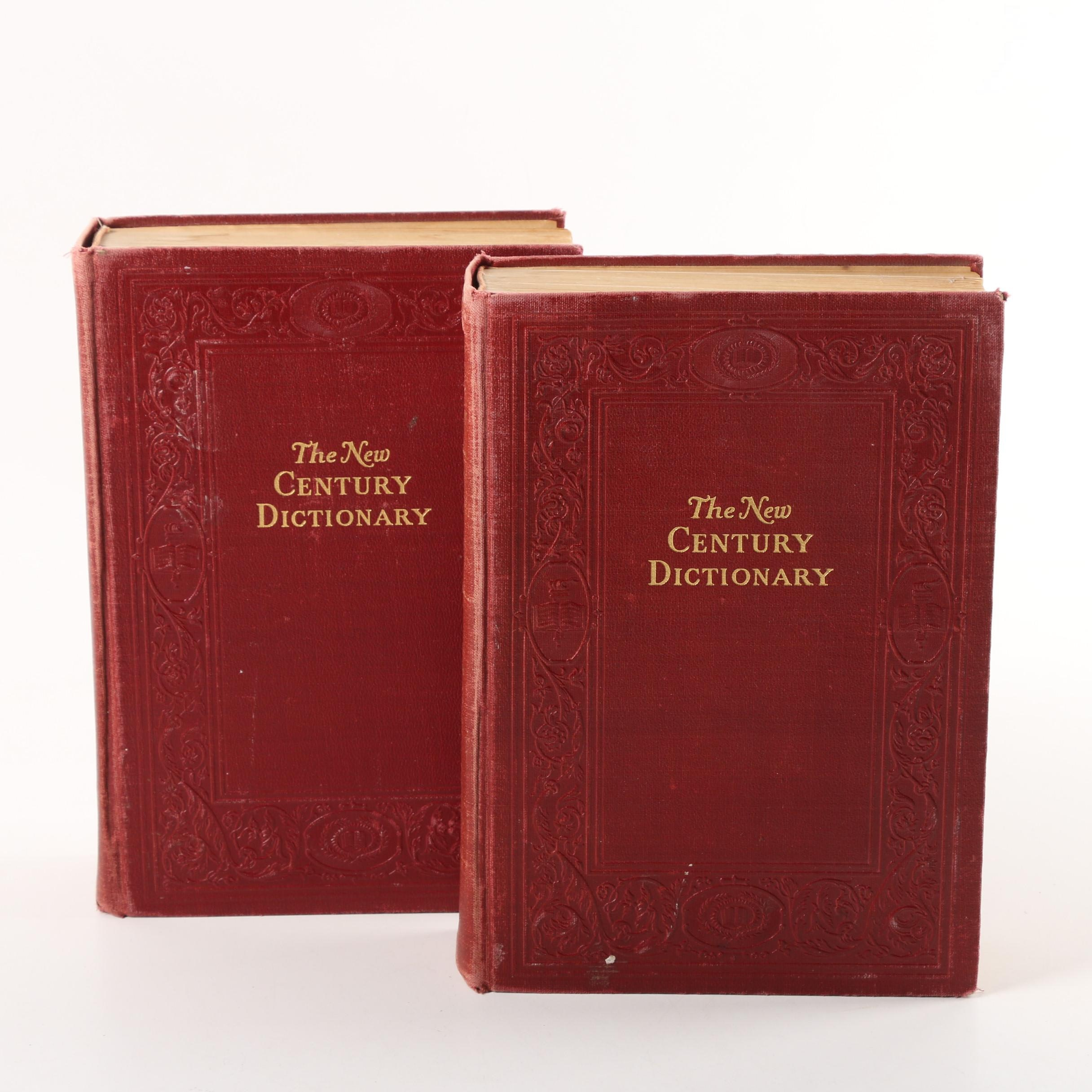"1946 ""The New Century Dictionary of the English Language"" in Two Volumes"