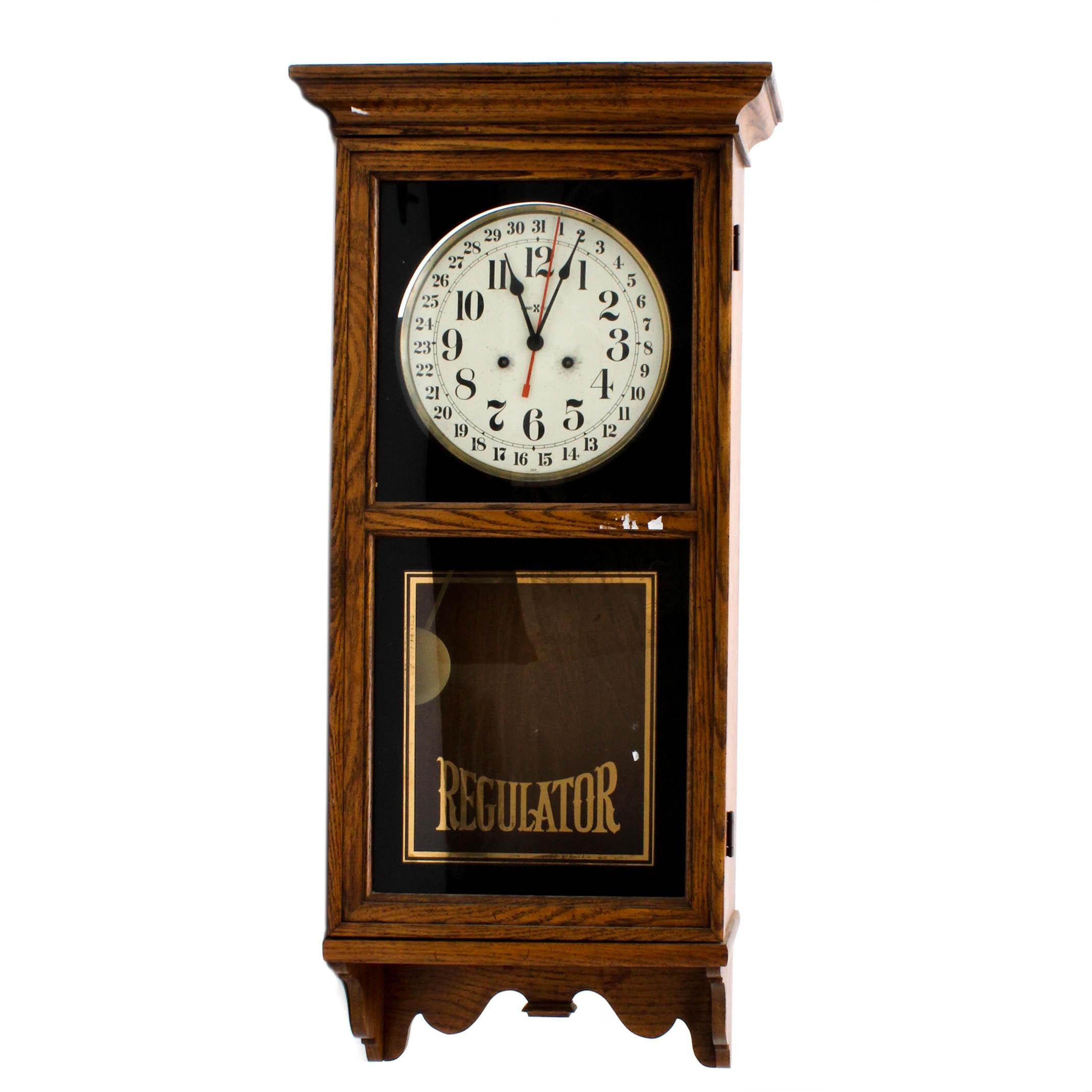 Howard Miller Regulator Wall Clock