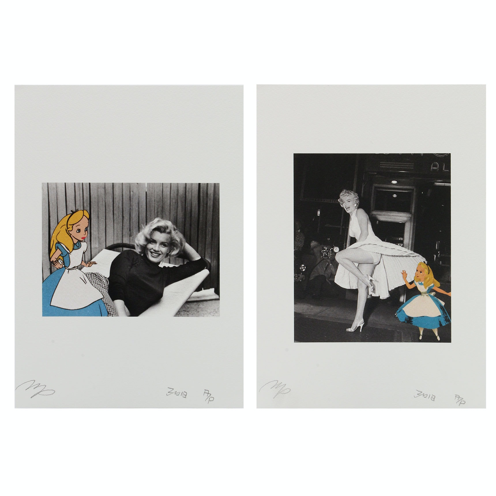 Marilyn Monroe Graphic Illustrations by Missing Piece