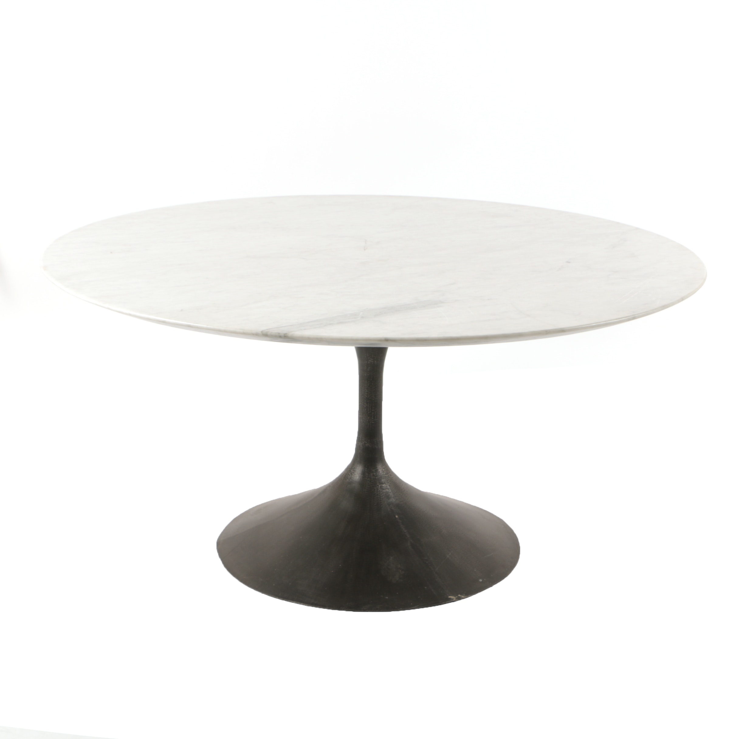 "Restoration Hardware ""Aero"" Marble Top Dining Table"