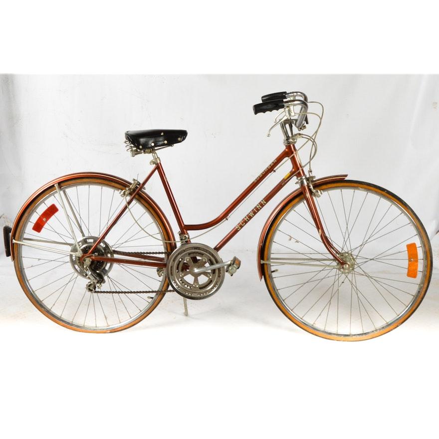 2a87af99c04 Vintage Schwinn Suburban Women S Bicycle Ebth
