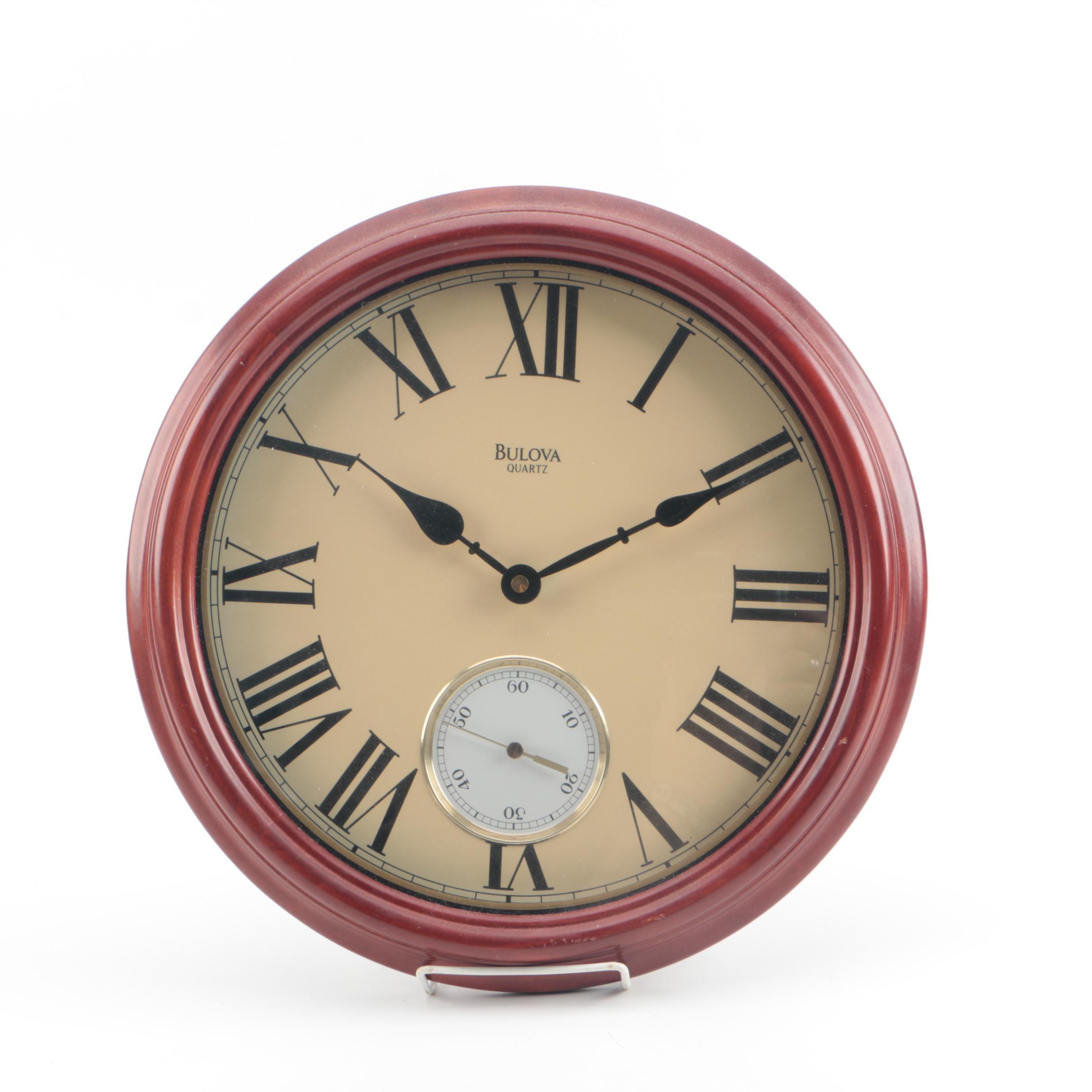 Bulova Quartz Wall Clock