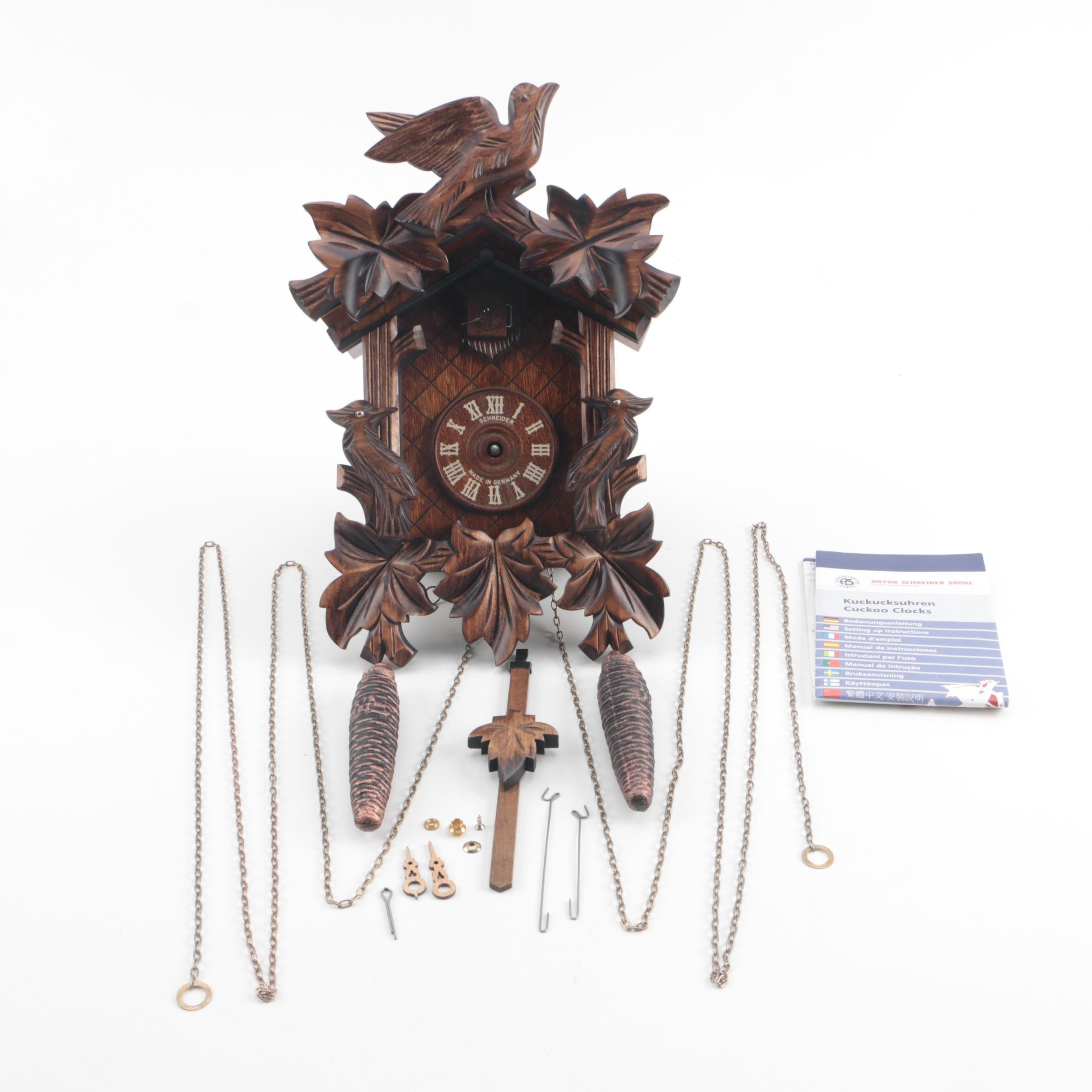 Black Forest Schneider Kuckuckshren Cuckoo Clock