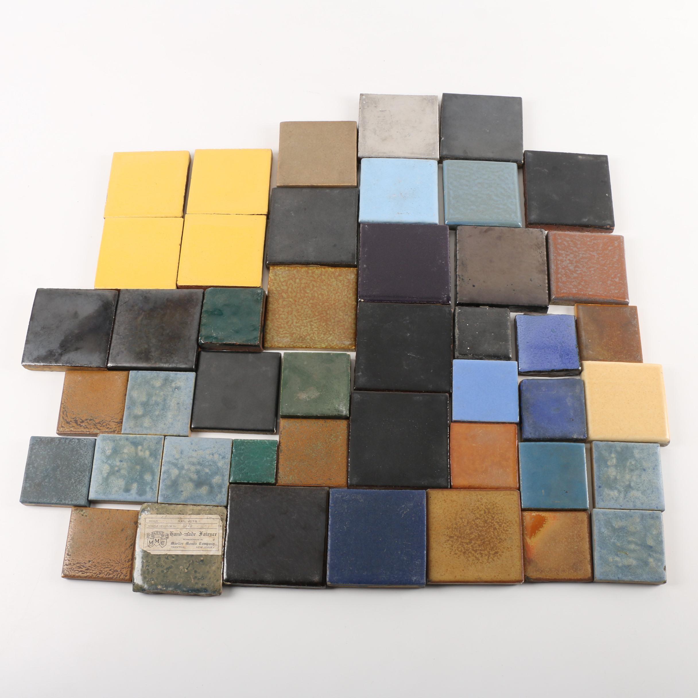 Vintage Ceramic Tiles including Rookwood Faience