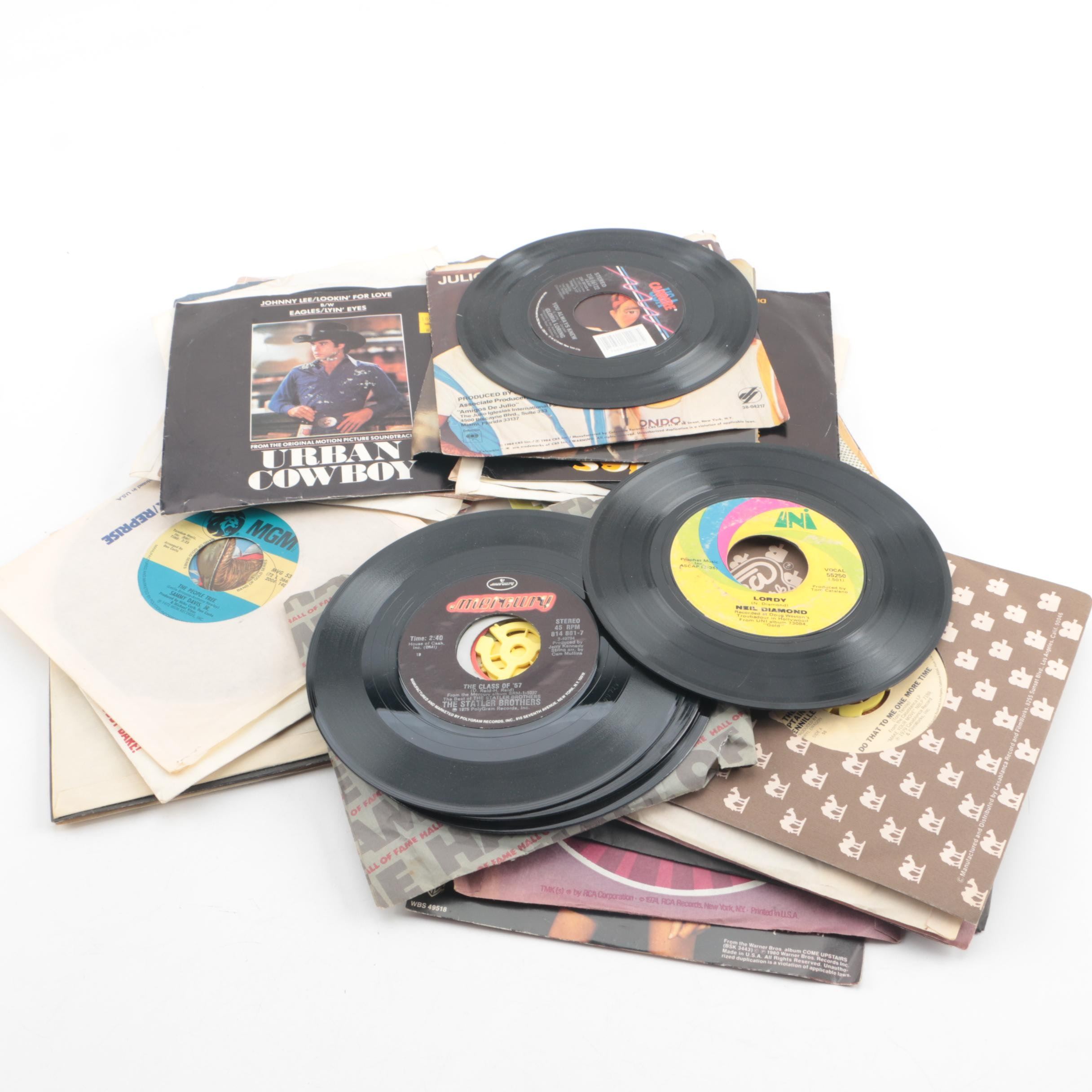 Rod Stewart, The Statler Brothers, Michael Jackson and Other Vintage Records