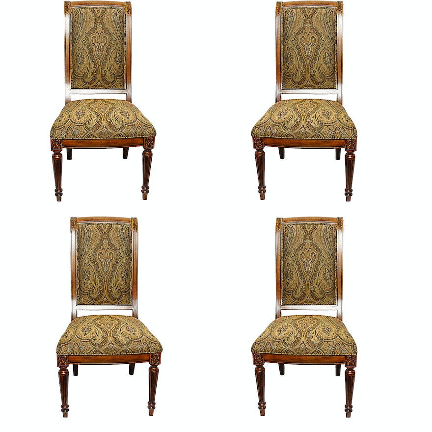 Contemporary Adison Side Chairs By Ethan Allen