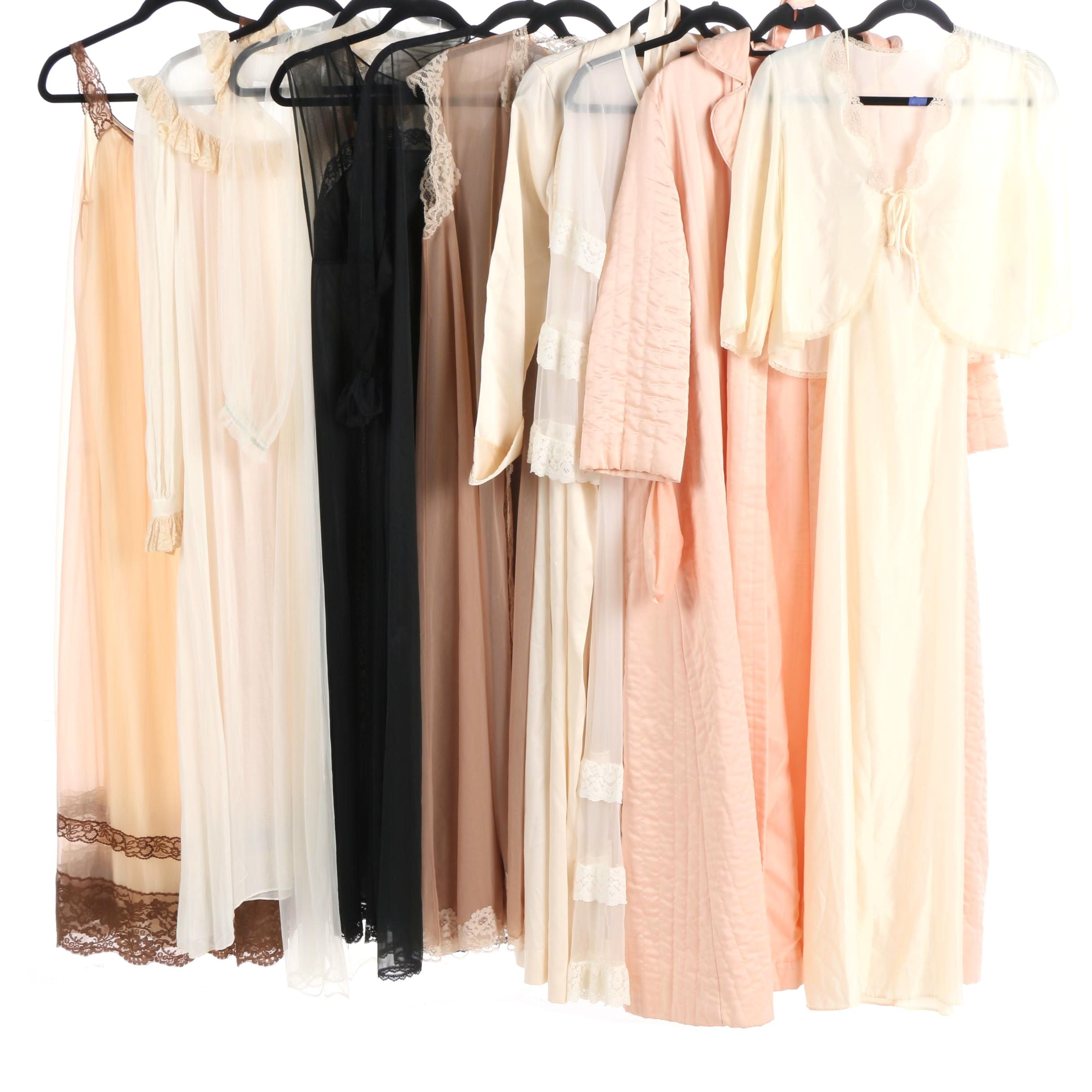 Women's Vintage Sleepwear and Robes