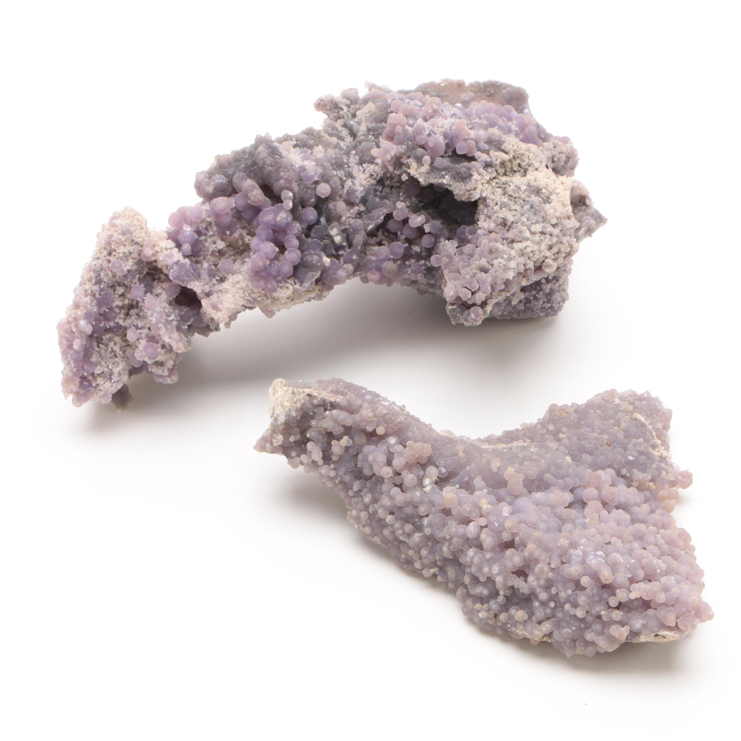 Grape Chalcedony Specimens