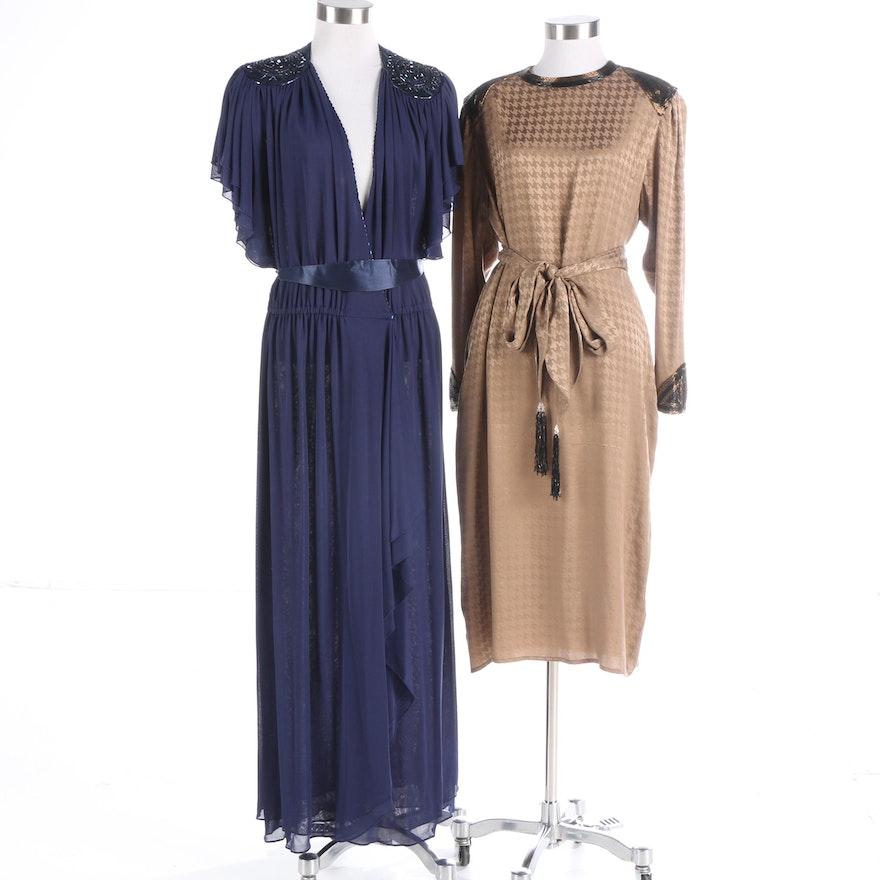 Circa 1970s & 1980s Lillie Rubin and Francesca of Damon Evening ...