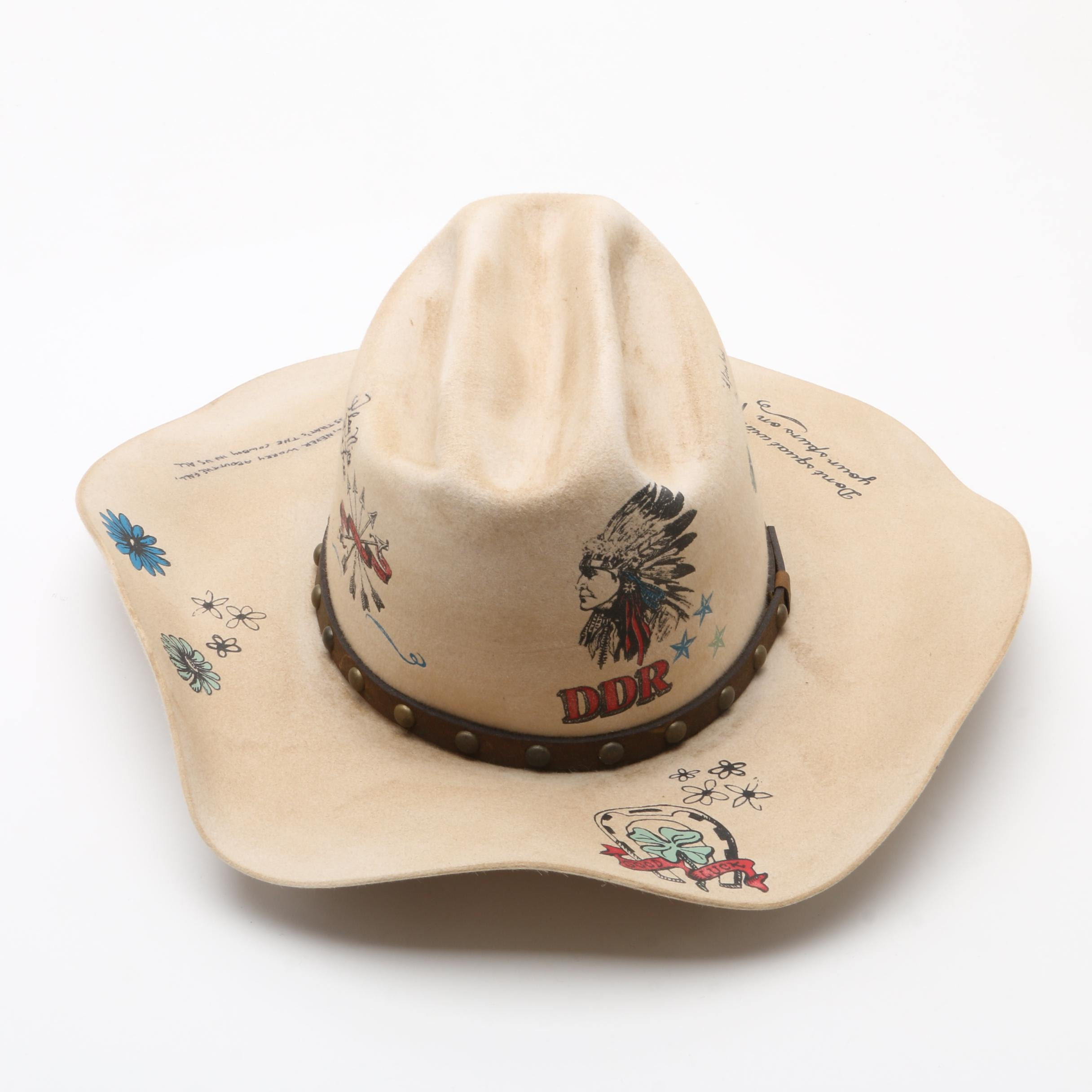 Double D Ranch Bench Made Cowgirl Hat by Greeley Hat Works