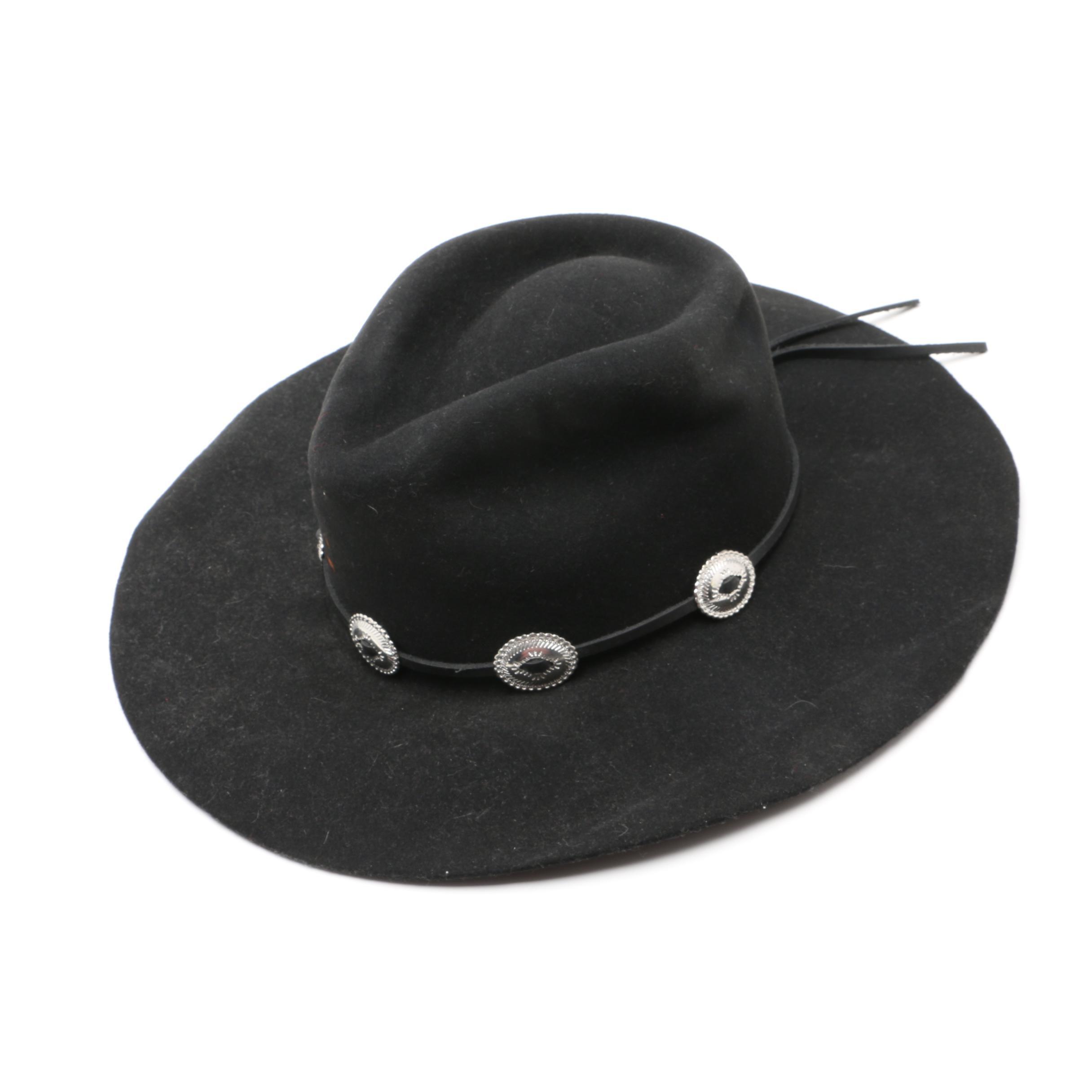 Charlie 1 Horse Black Felted Cowboy Hat