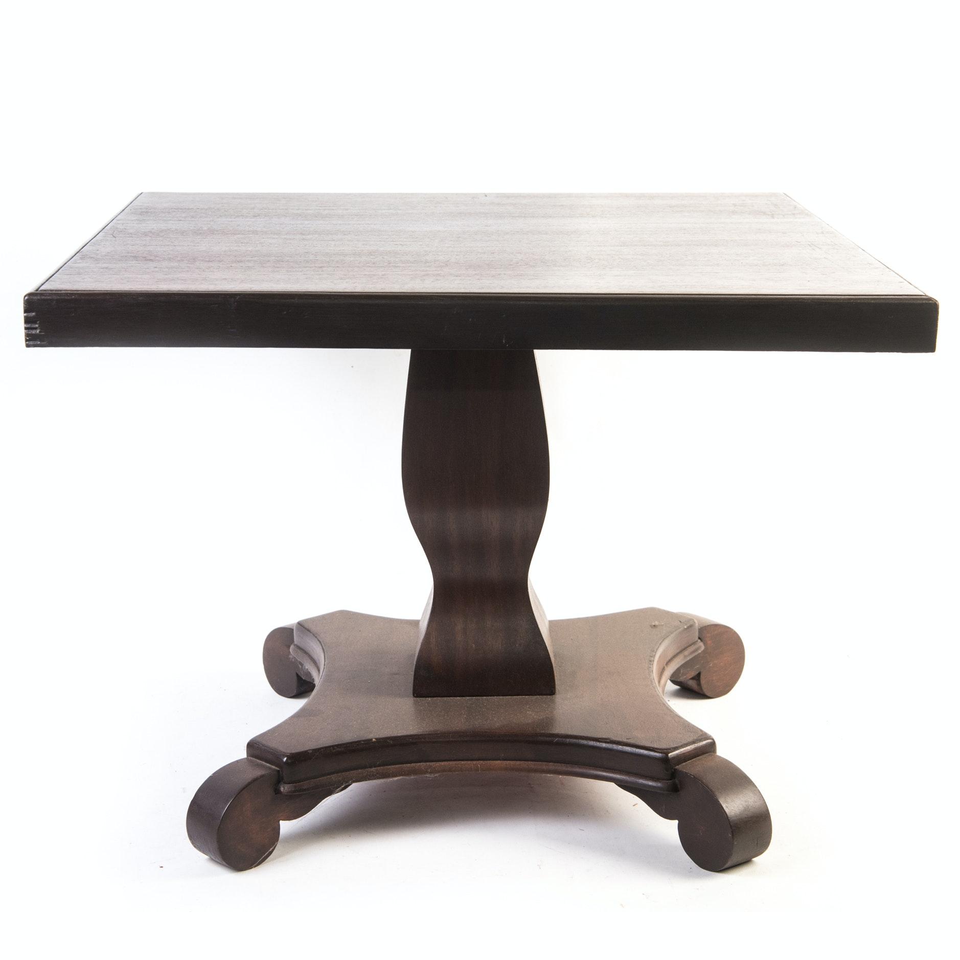 American Empire Revival Parlor Table