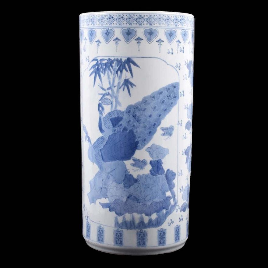 Chinese Umbrella Vase Stand Ebth