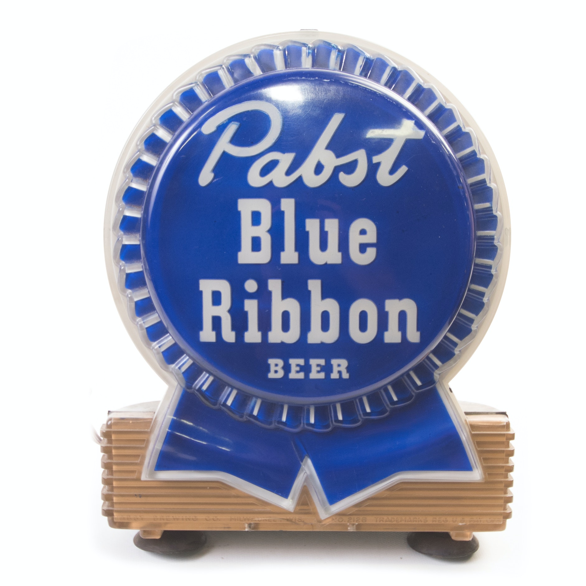 Vintage Pabst Blue Ribbon Beer Advertising Light