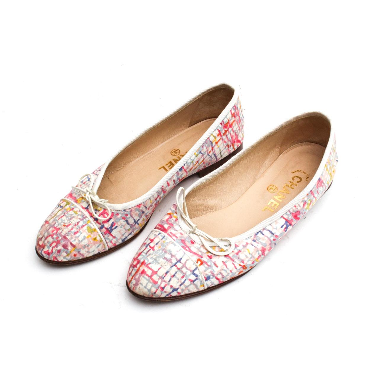 Chanel Multicolor Ballet Flats