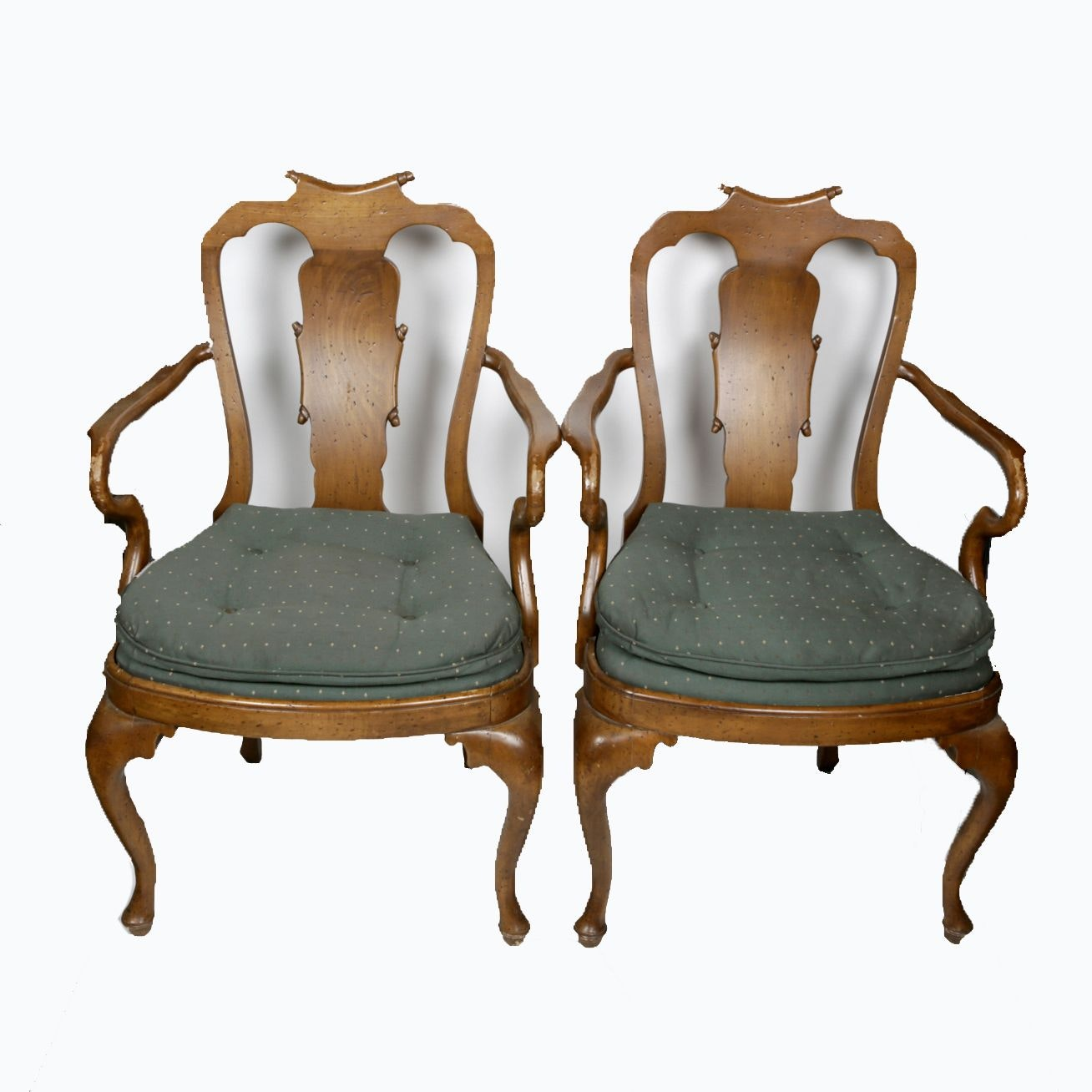 Chippendale Style Armchairs