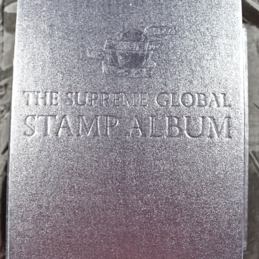 Supreme Global Stamp Album from Minkus Publications
