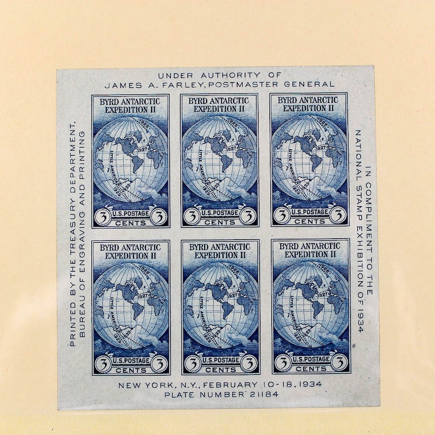 US Mint Postage Stamp Collection EBTH