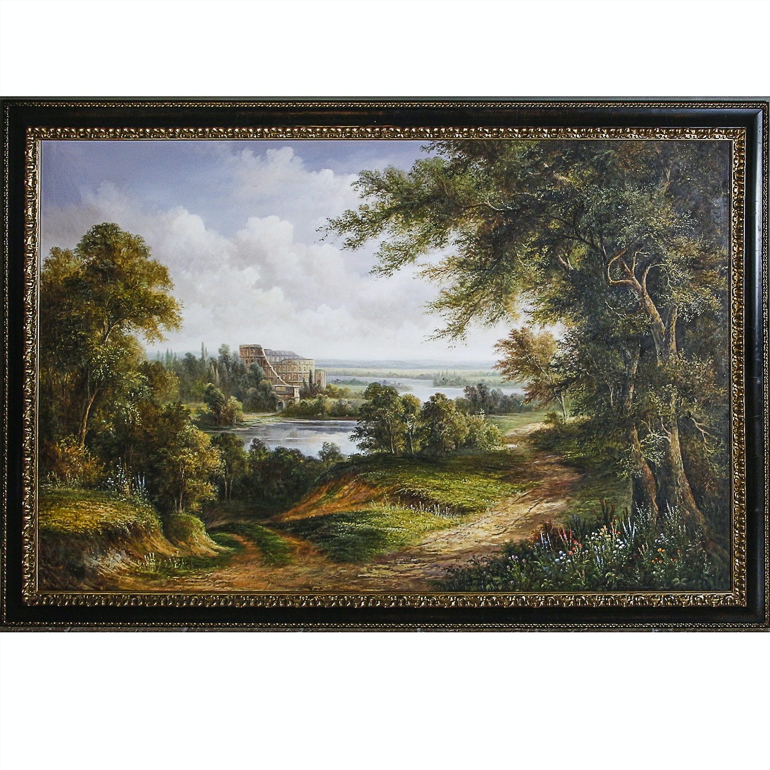 Large Oil Landscape Painting