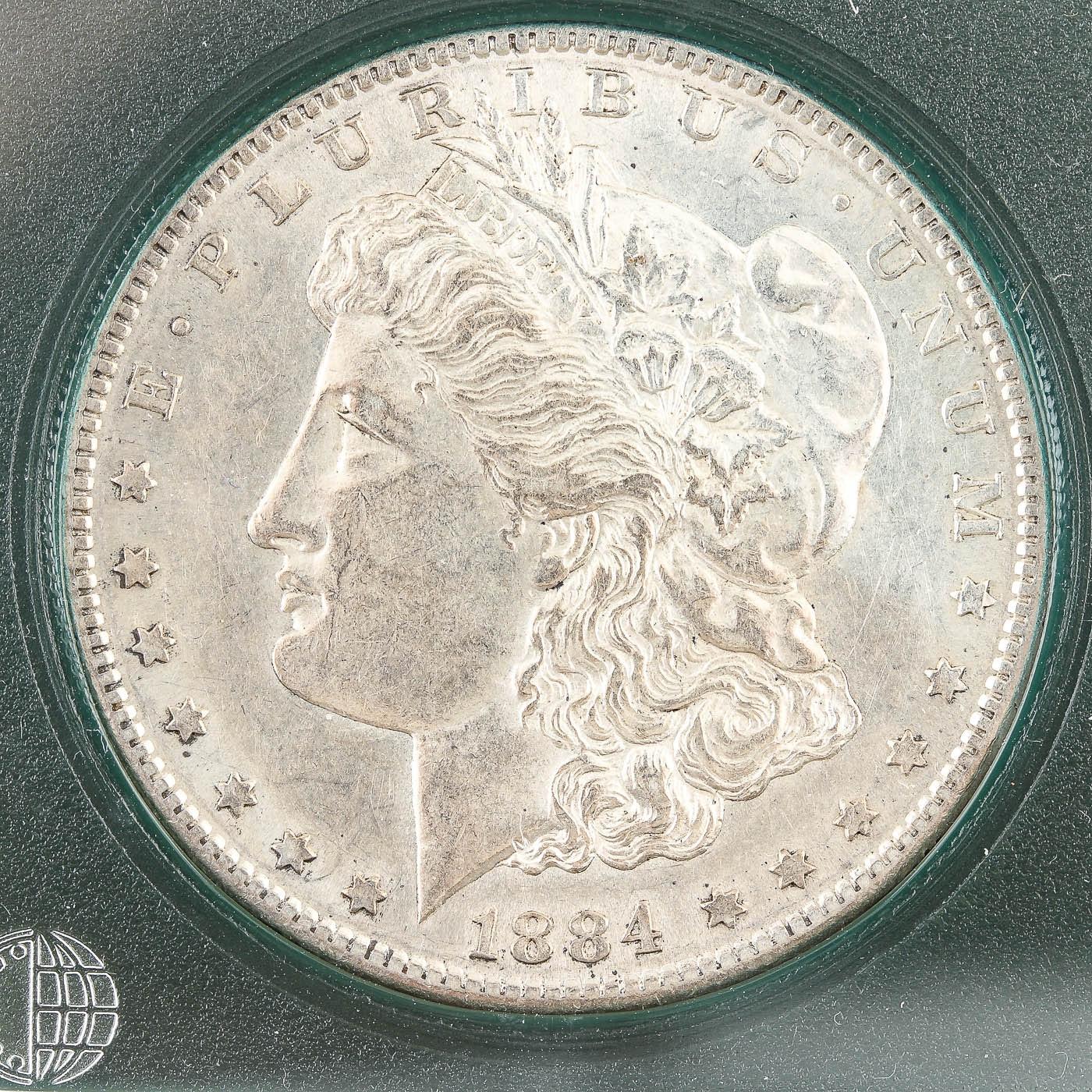 1884-S Silver Morgan Dollar