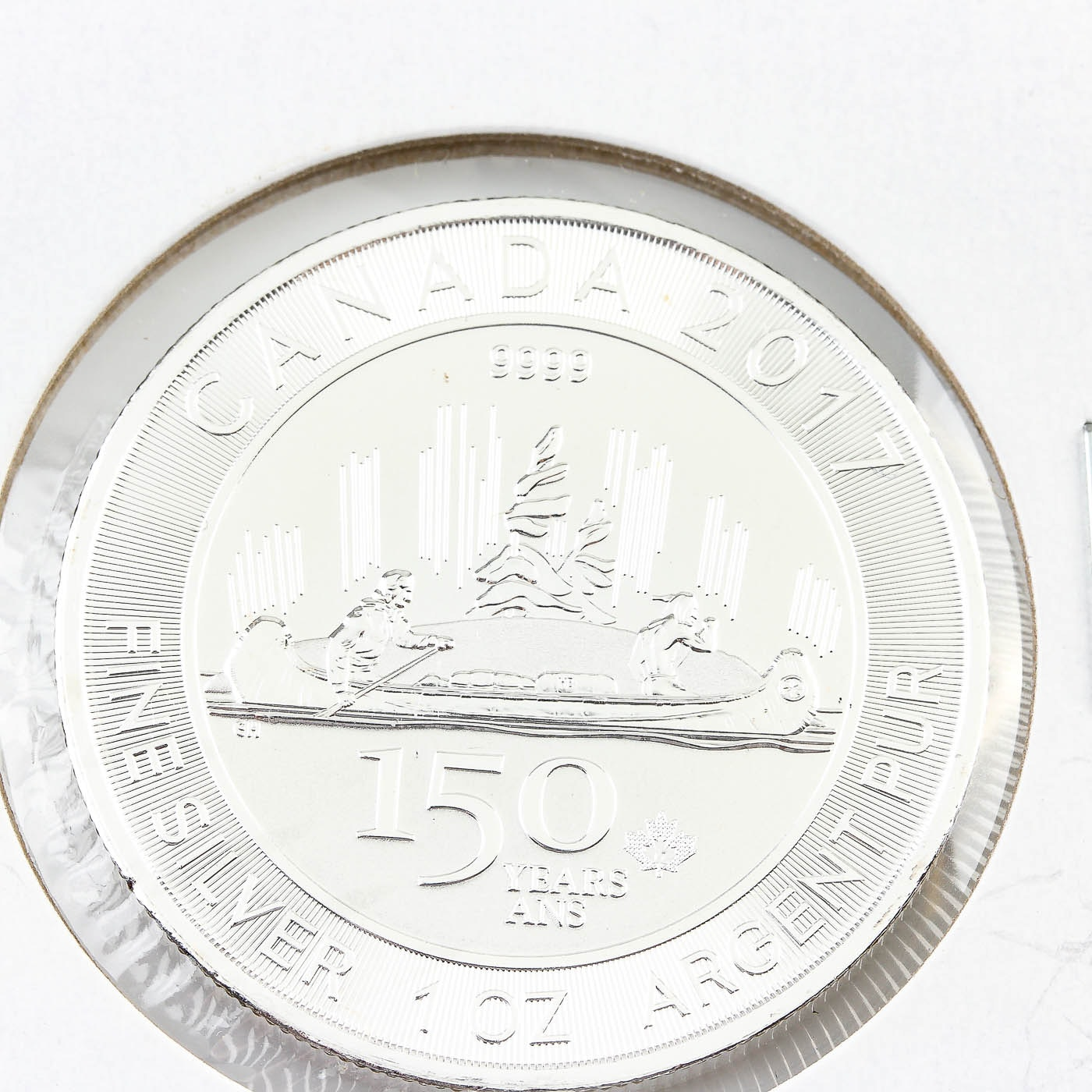 2017 Canadian 150th Anniversary Commemorative $5 Maple Leaf Silver Bullion Coin