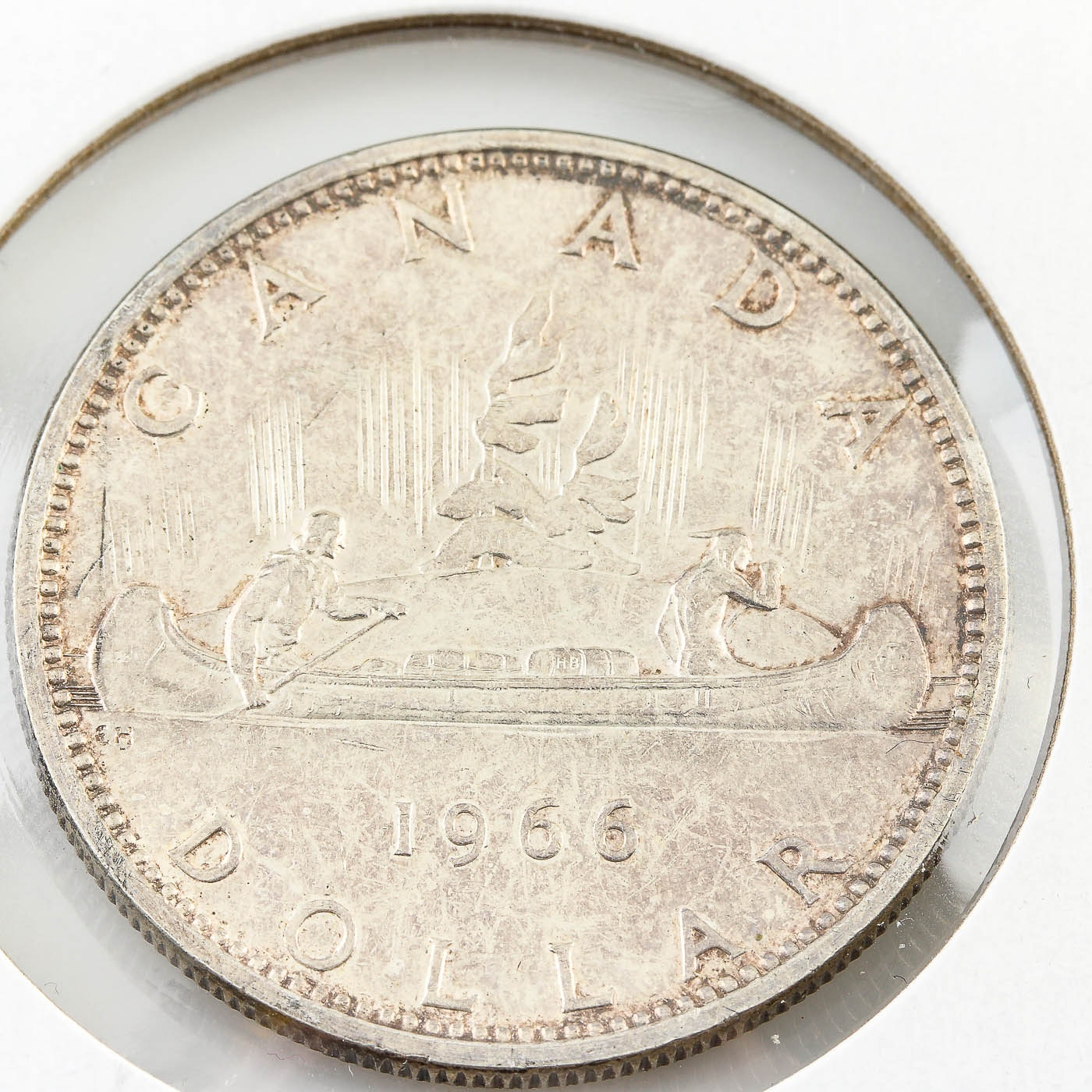 1966 Canadian Silver Proof Dollar