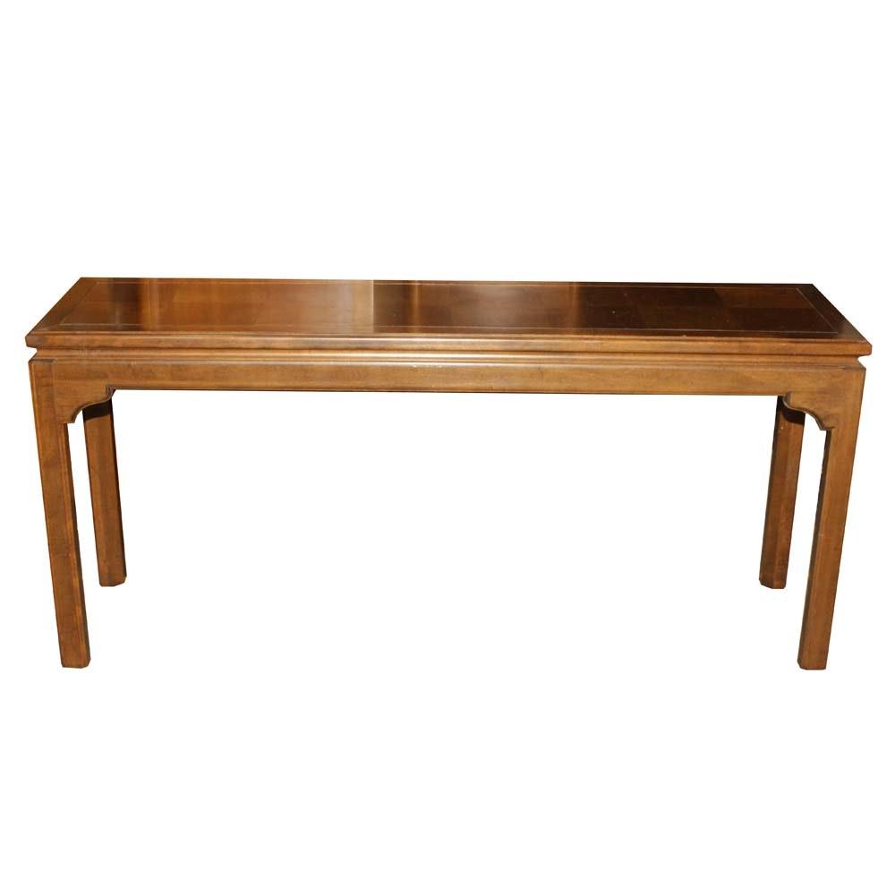 Contemporary Ethan Allen Console Table