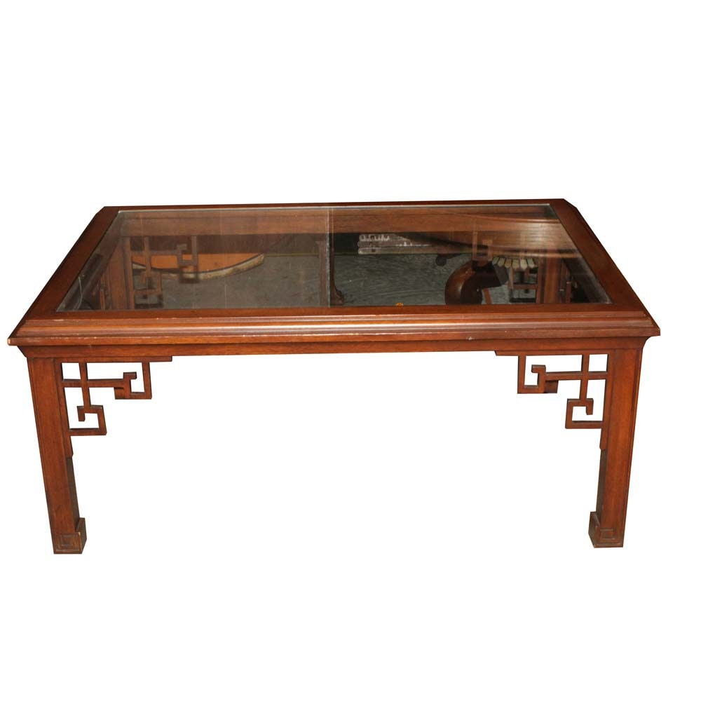 Contemporary Chinese Inspired Coffee Table