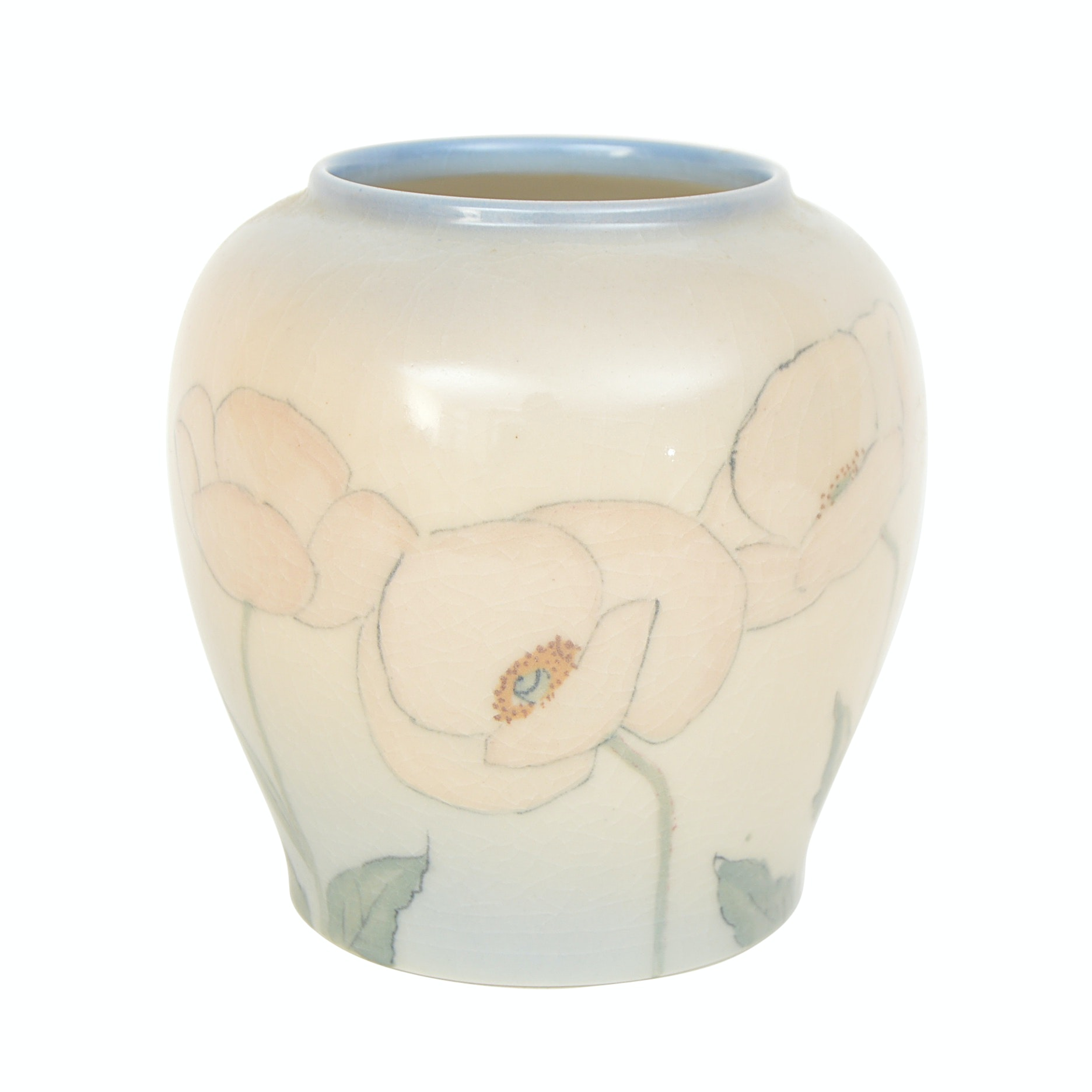 1945 Kataro Shirayamadani Rookwood Pottery Vase