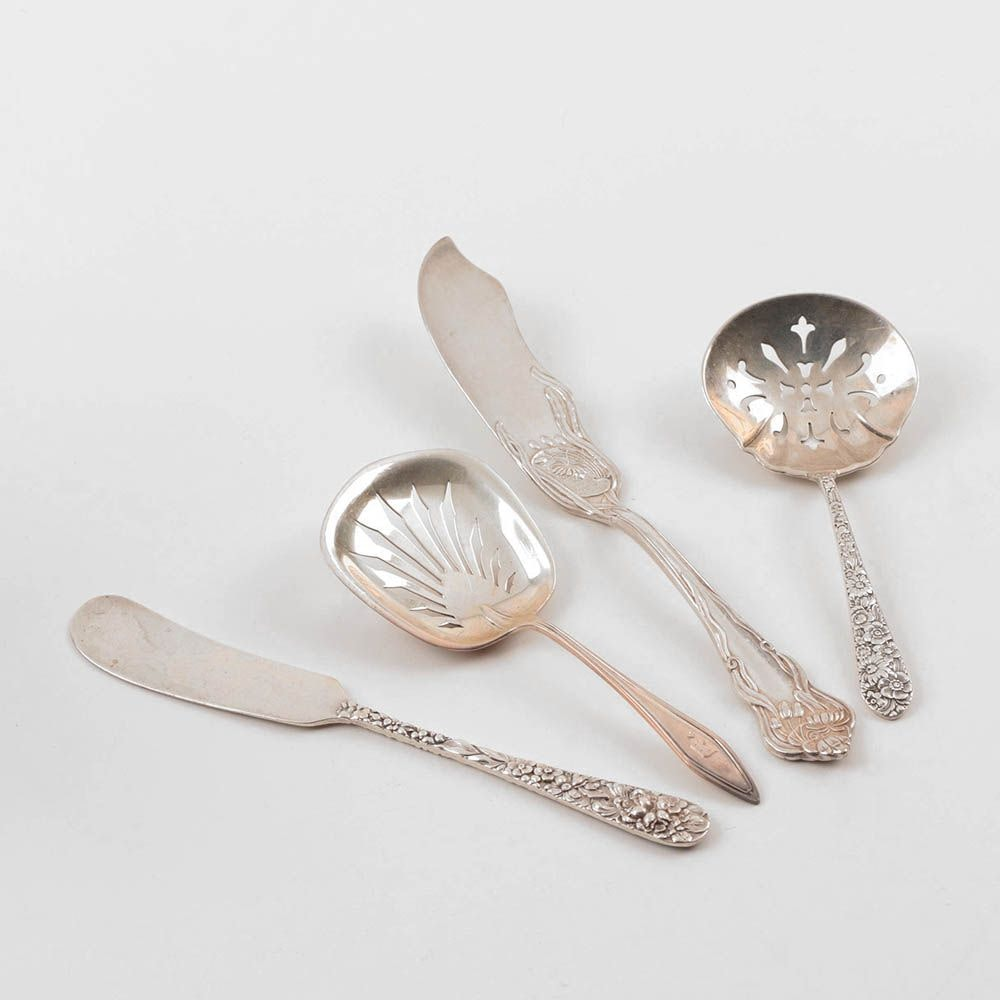 Sterling Silver Serving Utensils from Towle, Alvin and Stieff