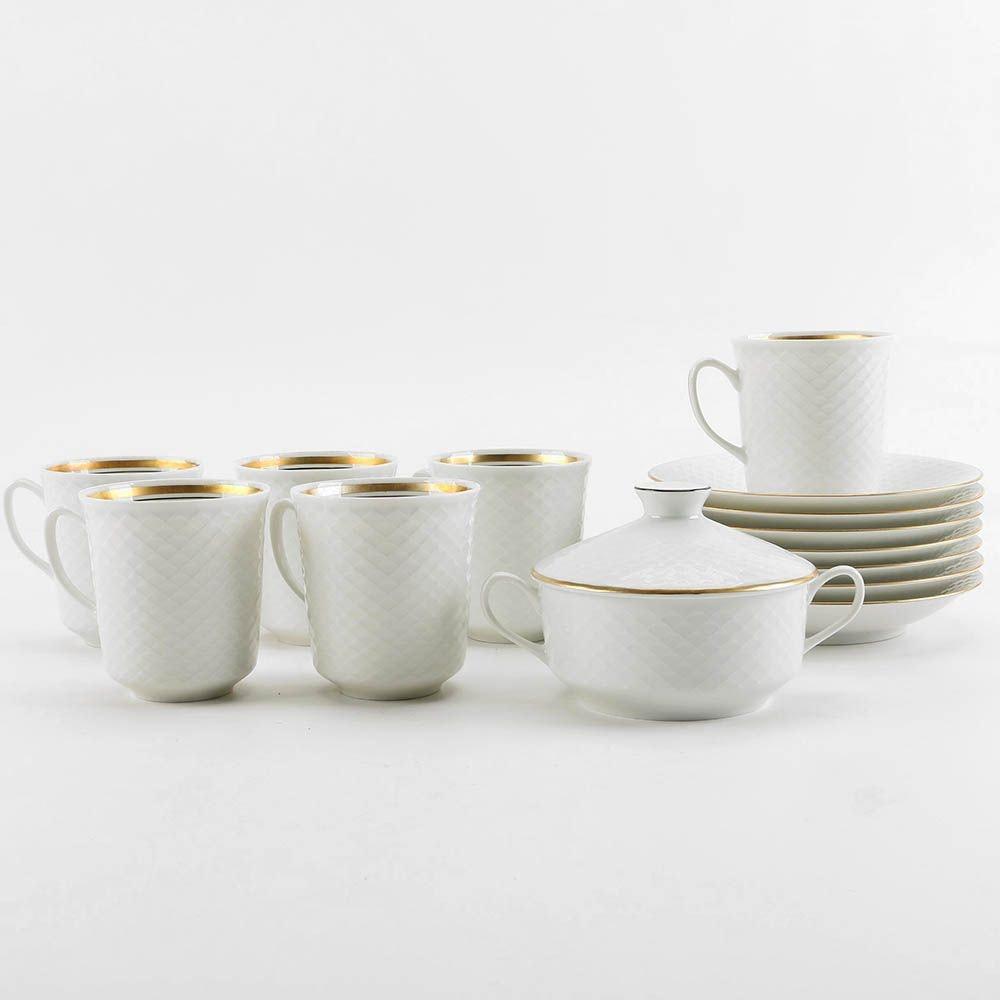 Porsgrund Norwegian Porcelain Coffee Set
