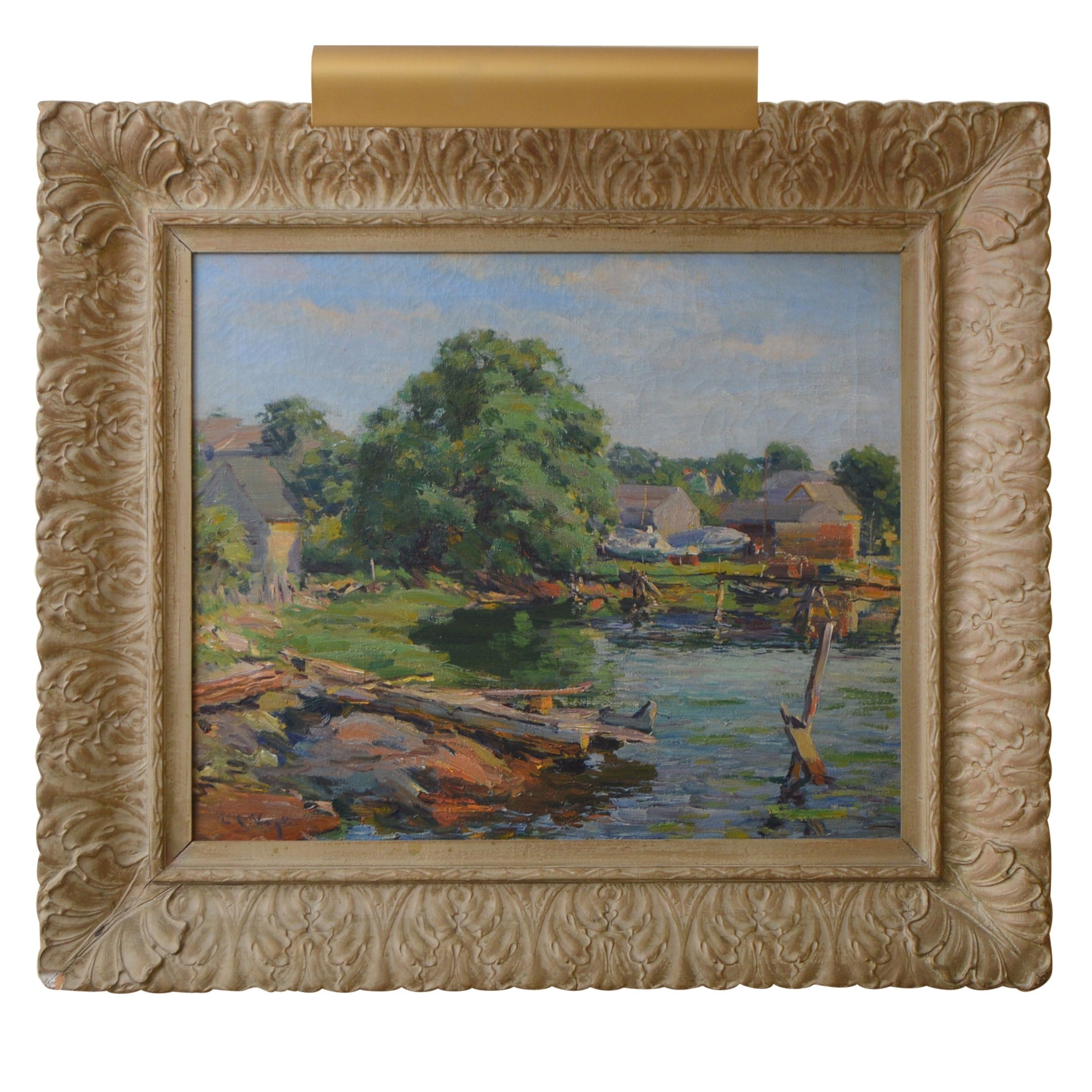 Louis Charles Vogt Oil Painting