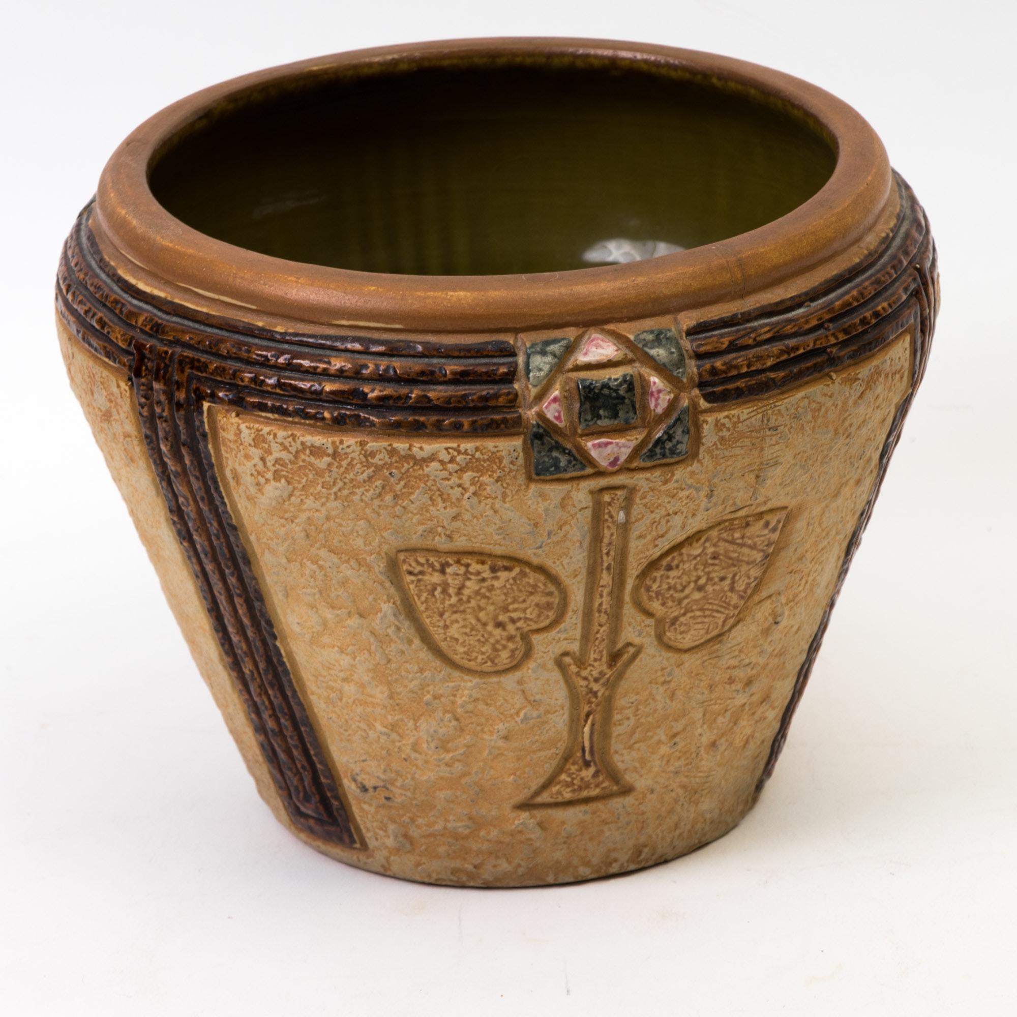 "Roseville Pottery ""Mostique"" Planter"