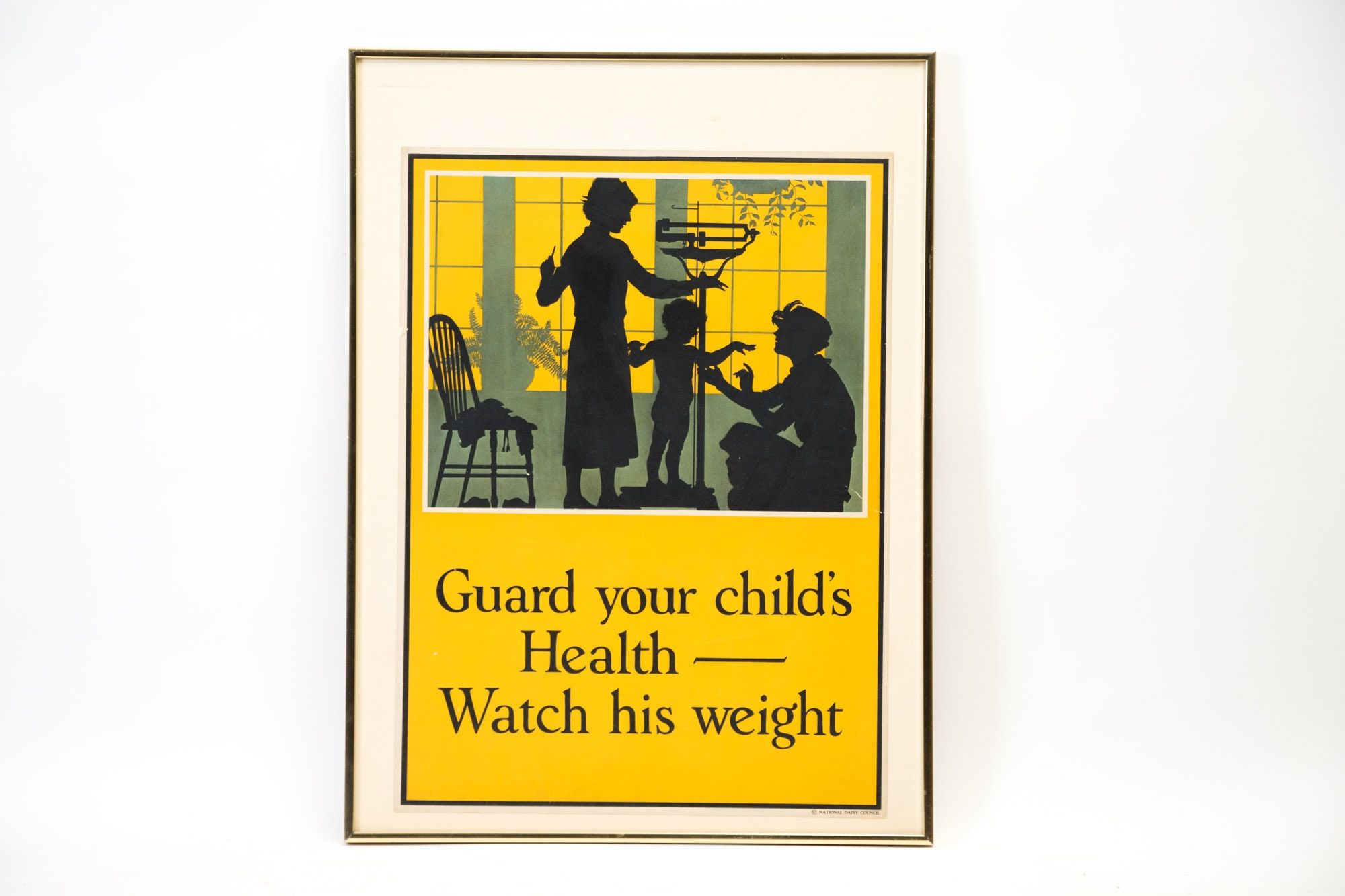1920s National Dairy Association Advertising Poster