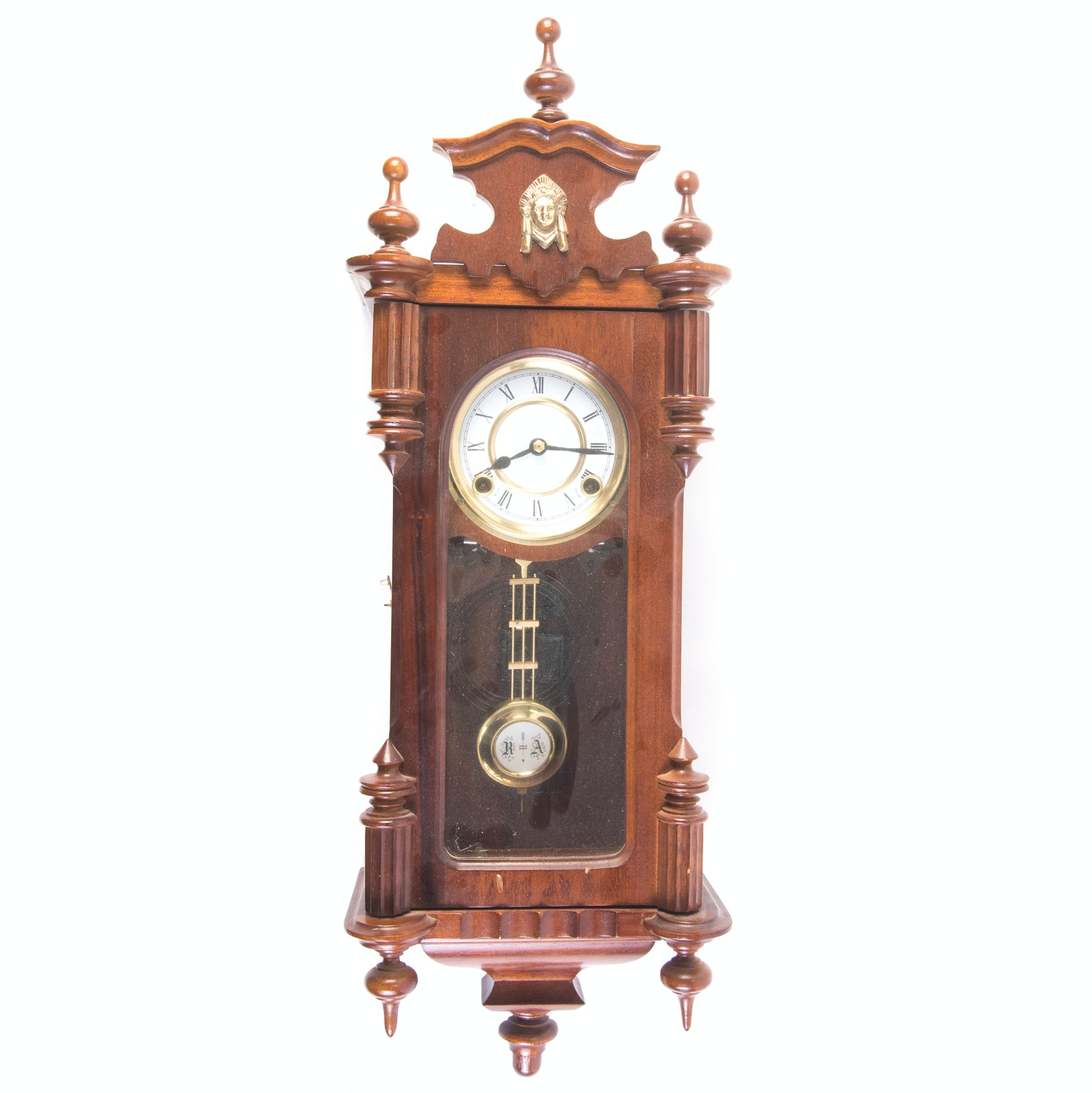 RA Regulator Wall Clock