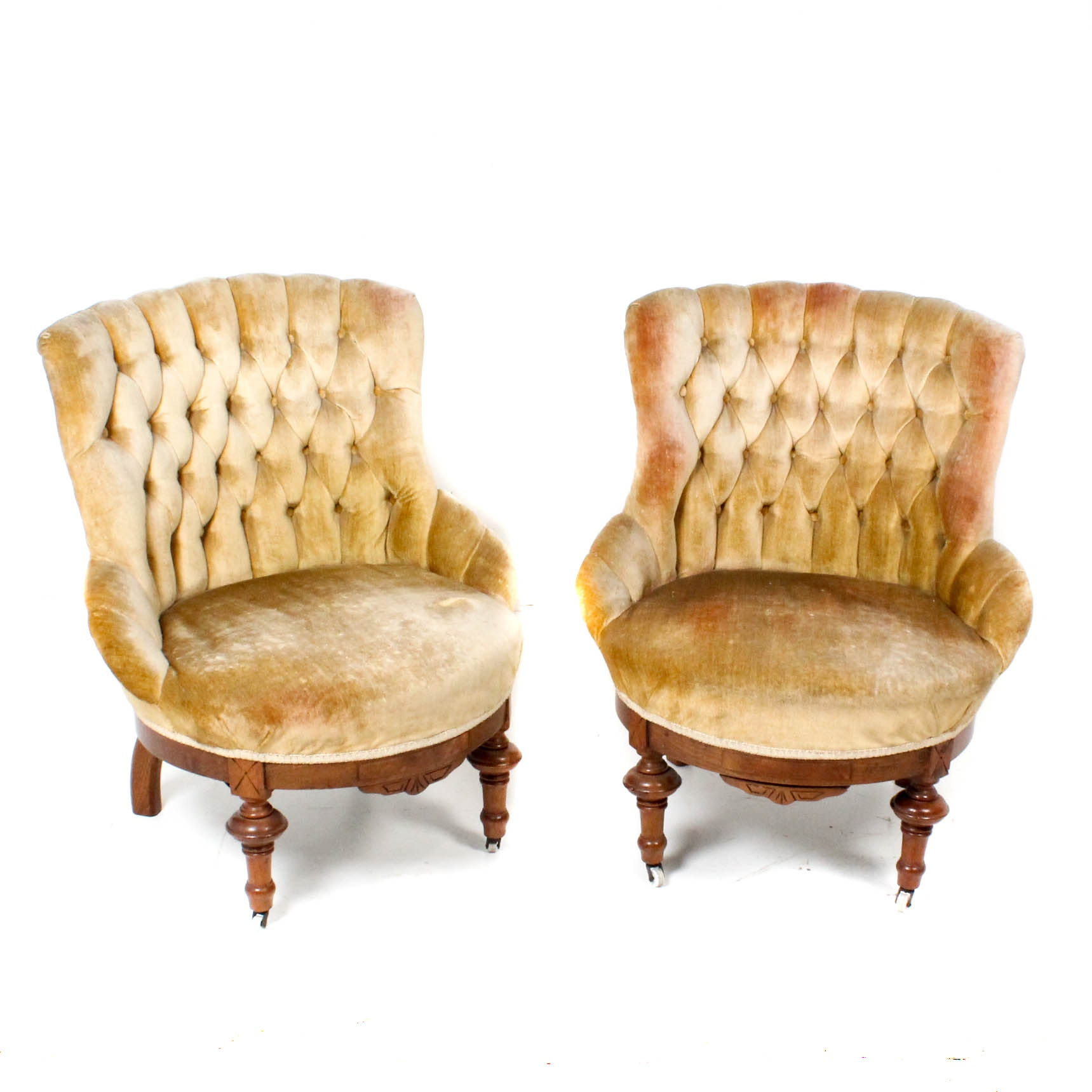 Antique Tub Chairs