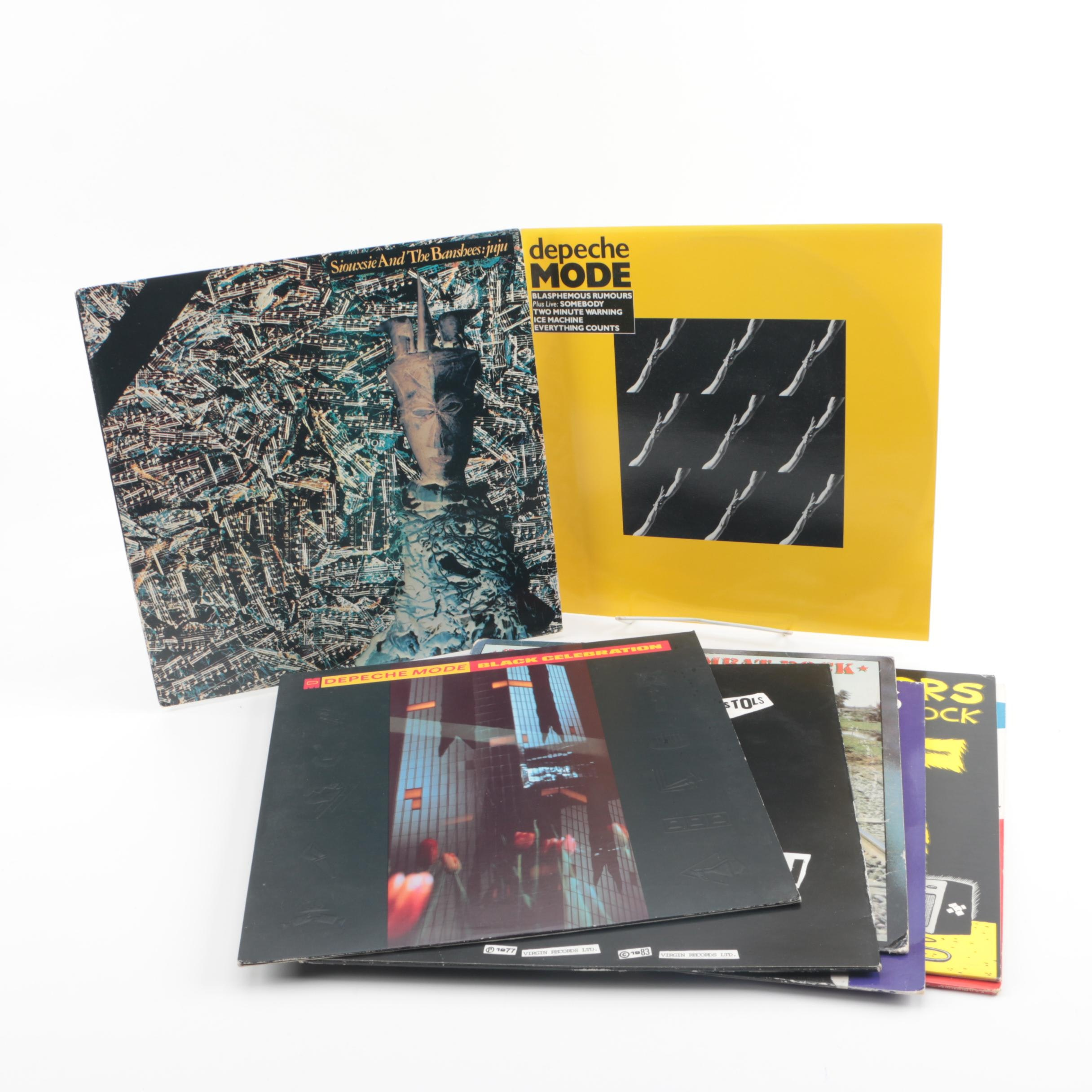 Depeche Mode, The Clash, Kraftwerk, The Smiths and Other Alternative Records