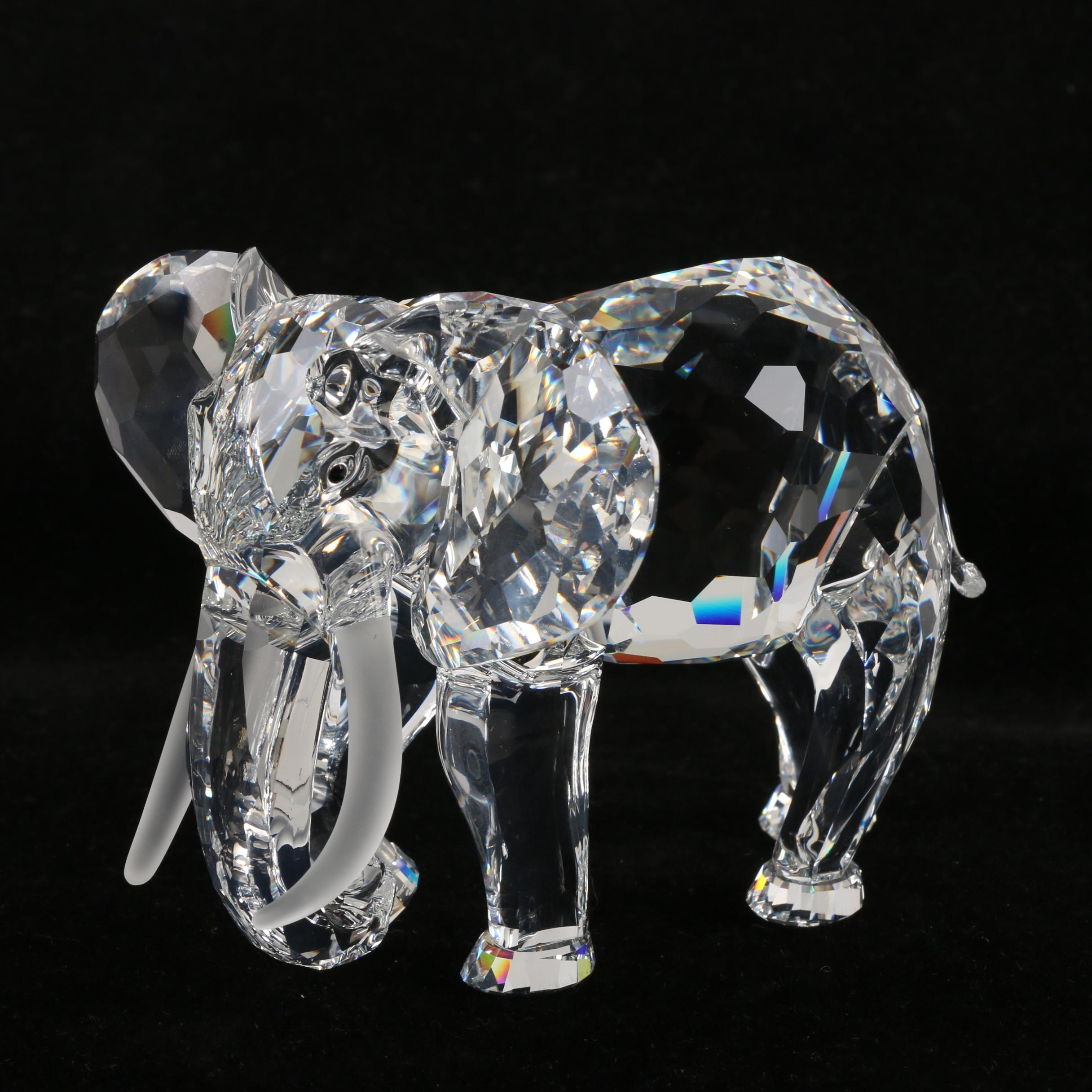 "1993 Swarovski Crystal ""Elephant"" Annual Edition Figurine"