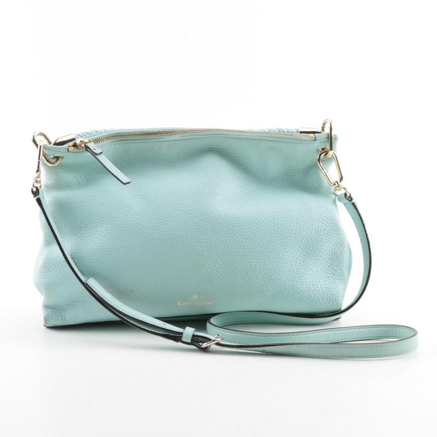 Kate Spade New York Baby Blue Leather Handbag