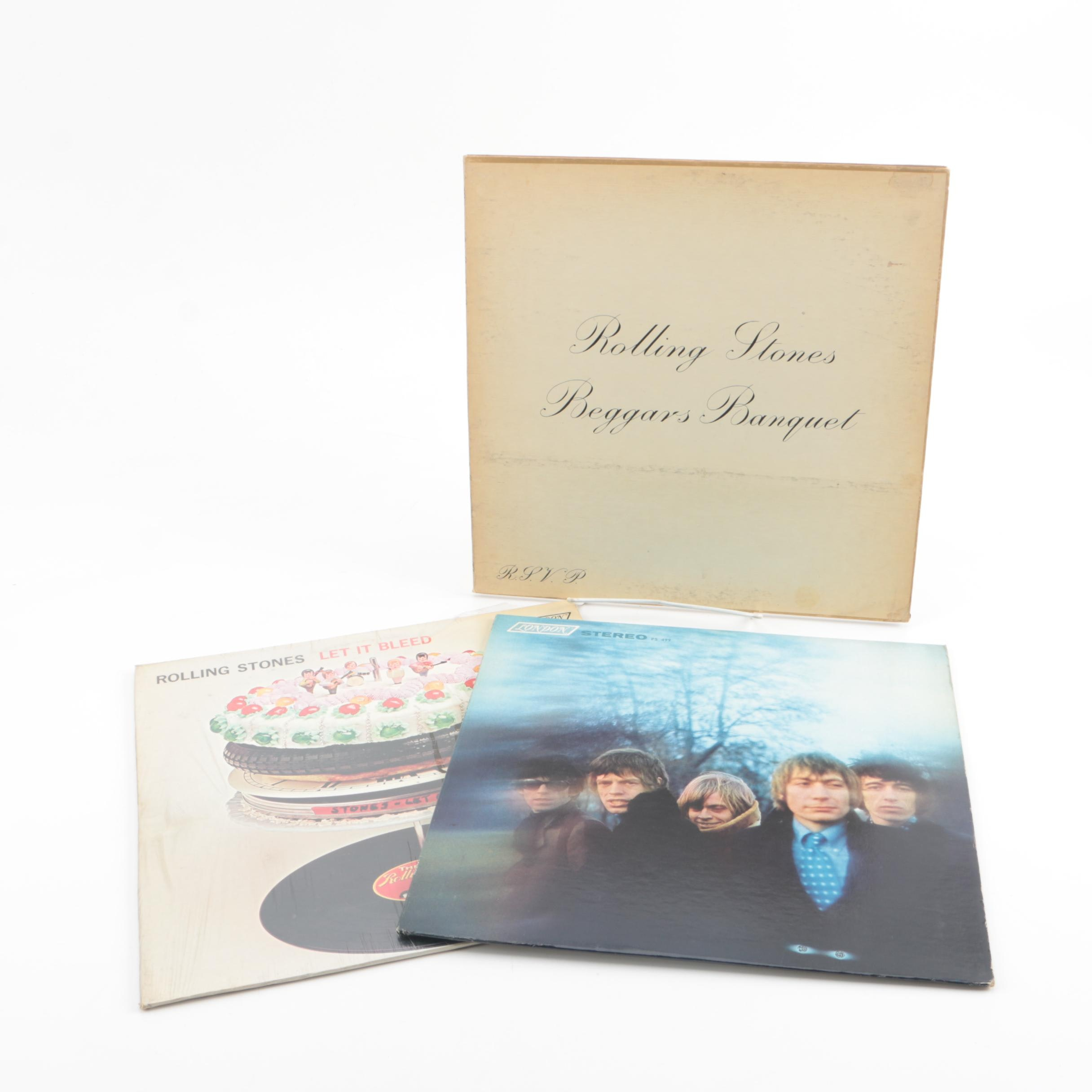 """The Rollings Stones Stereo Pressing Records including US """"Between the Buttons"""""""
