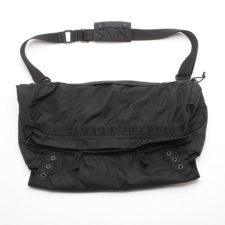 a143a42d5b6c RLX Ralph Lauren Black Messenger Bag with Yellow Lining   EBTH