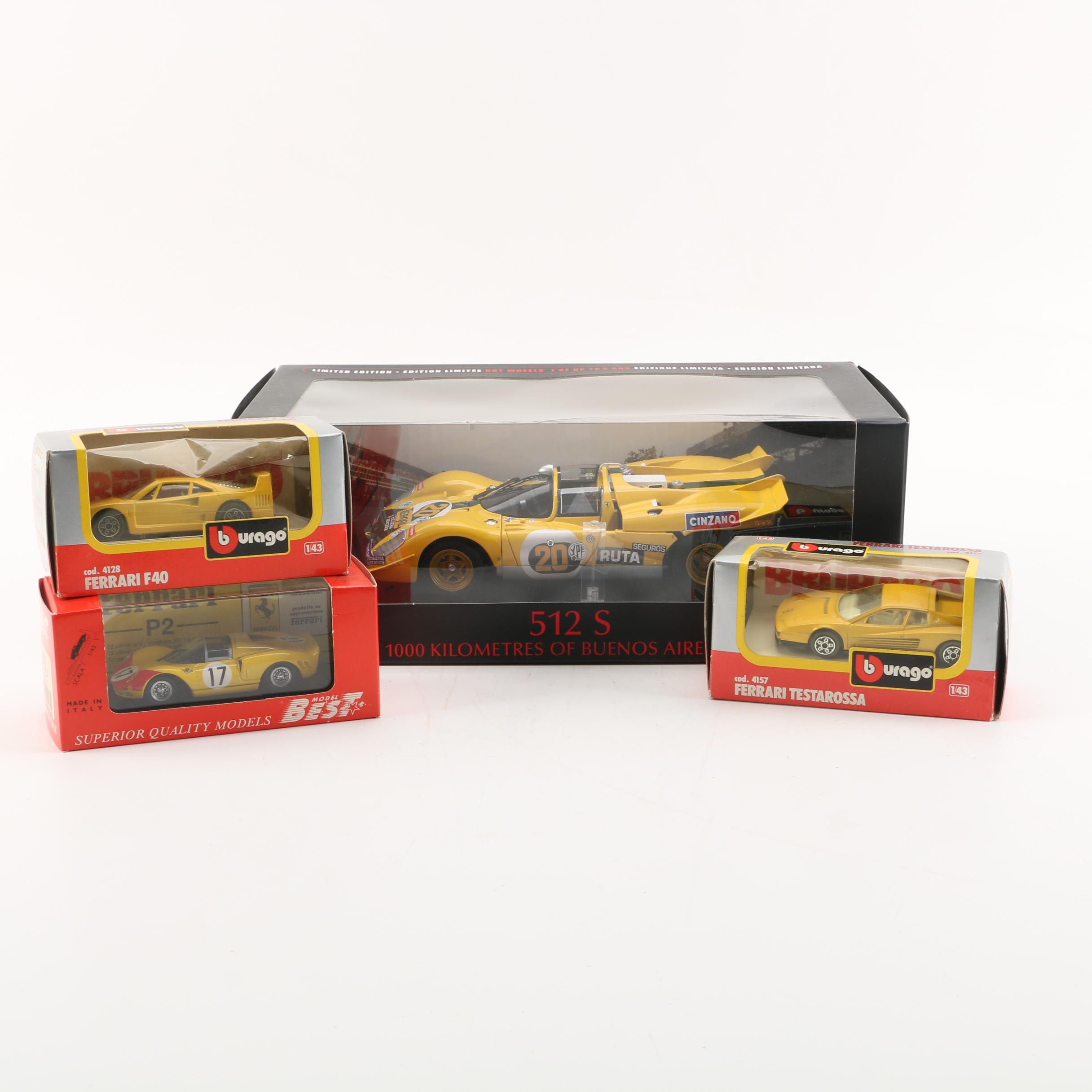 Ferrari Die-Cast Cars including Bburago