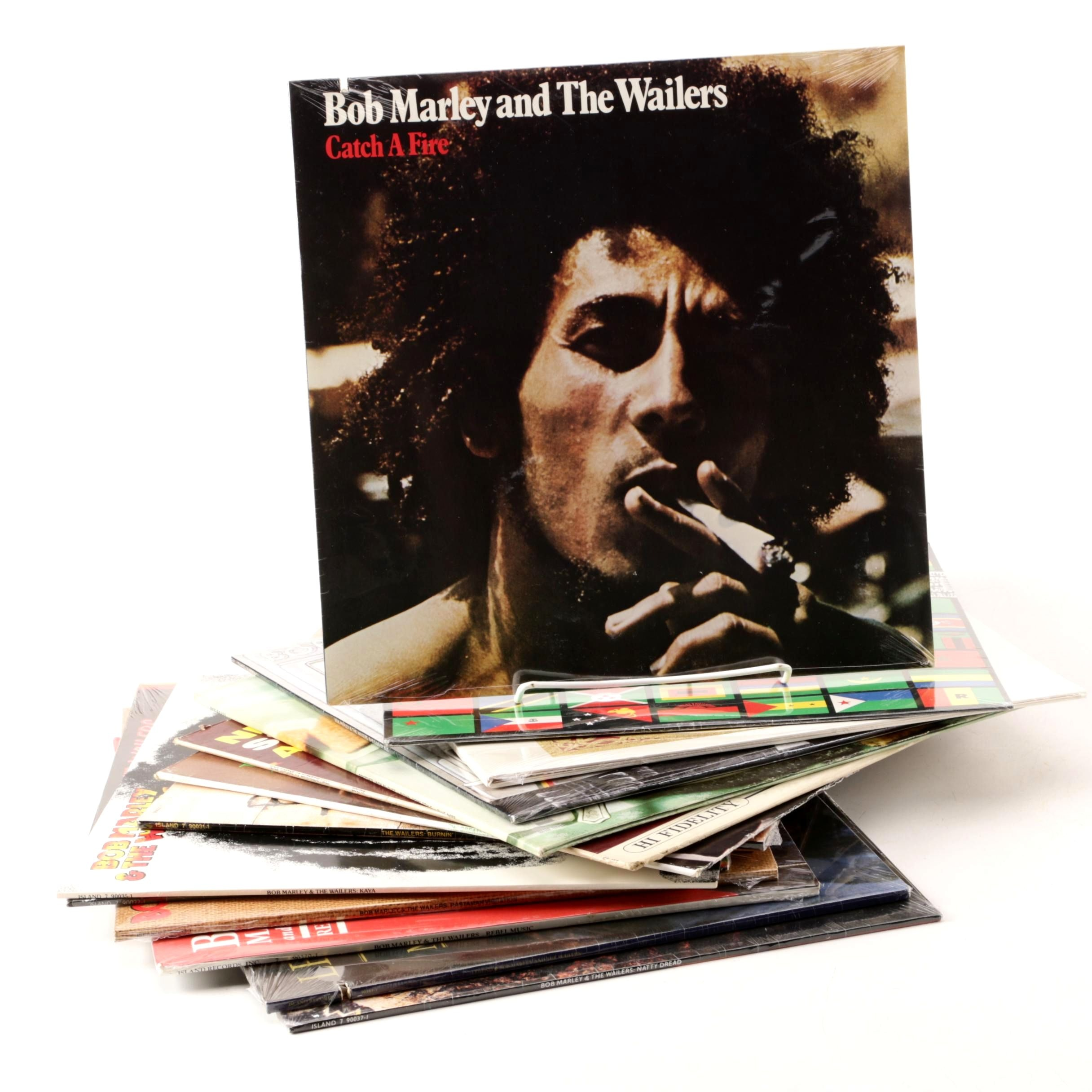 Reggae and Jazz Vinyl LPs including Bob Marley, Nina Simone and Louis Armstrong