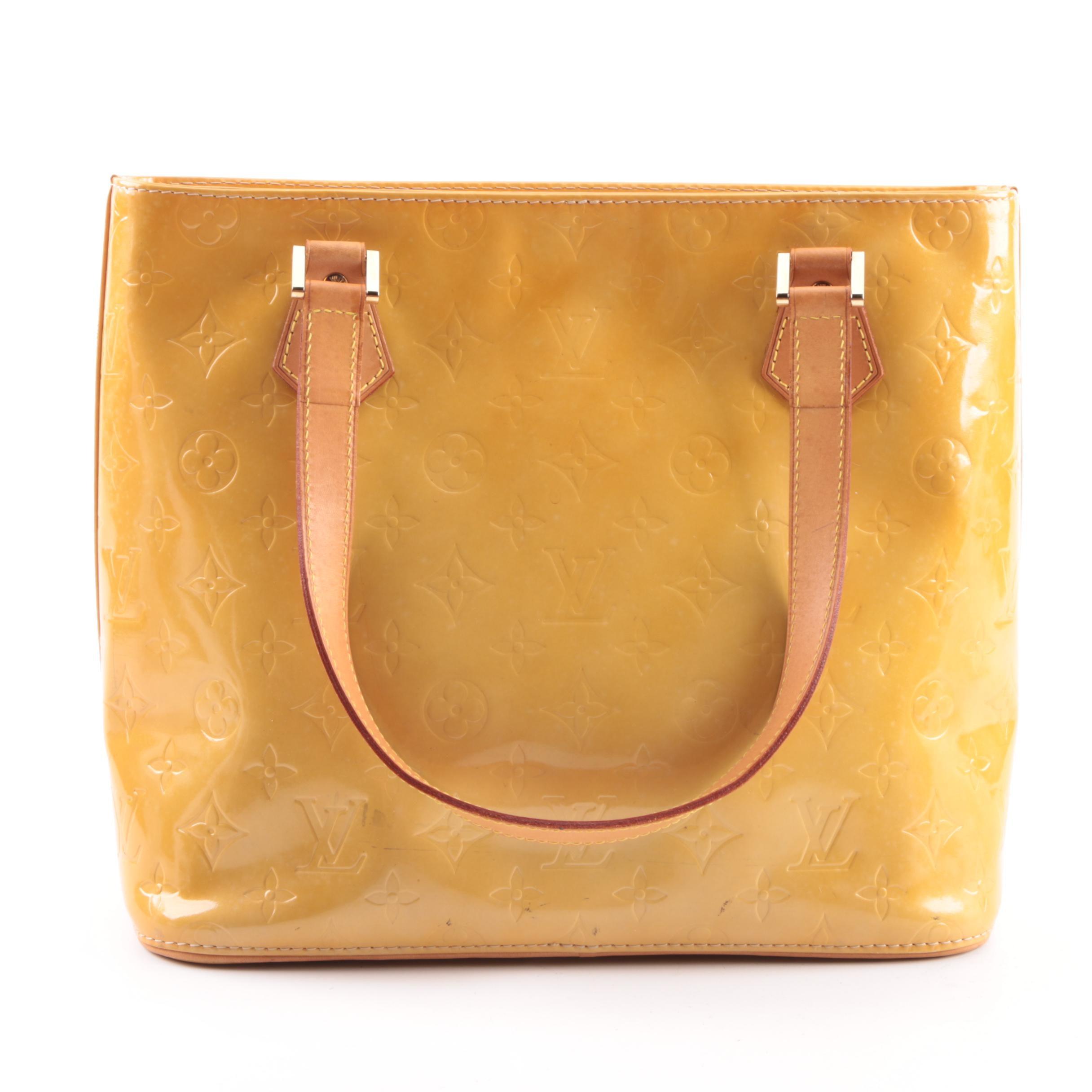 Louis Vuitton Mango Vernis Leather Houston Tote